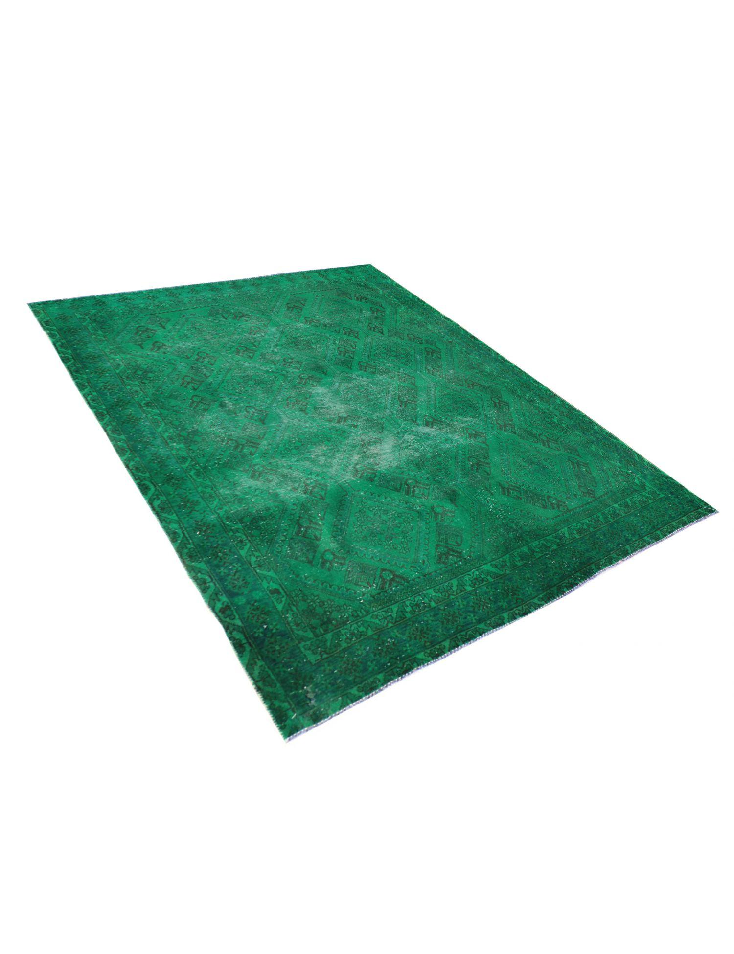 Tappeto Vintage  verde <br/>277 x 201 cm