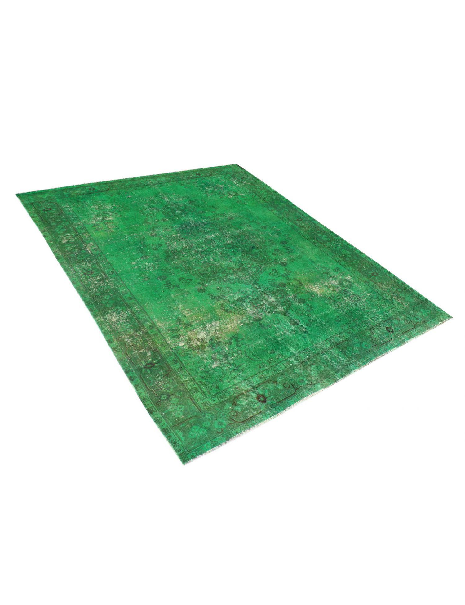 Vintage Perserteppich  grün <br/>280 x 205 cm