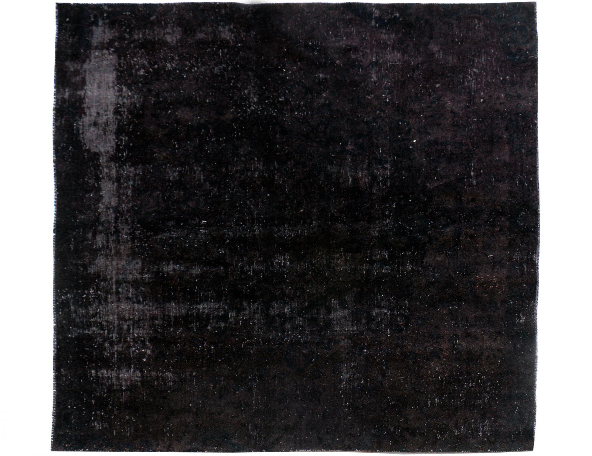 Vintage Perserteppich  schwarz <br/>178 x 196 cm