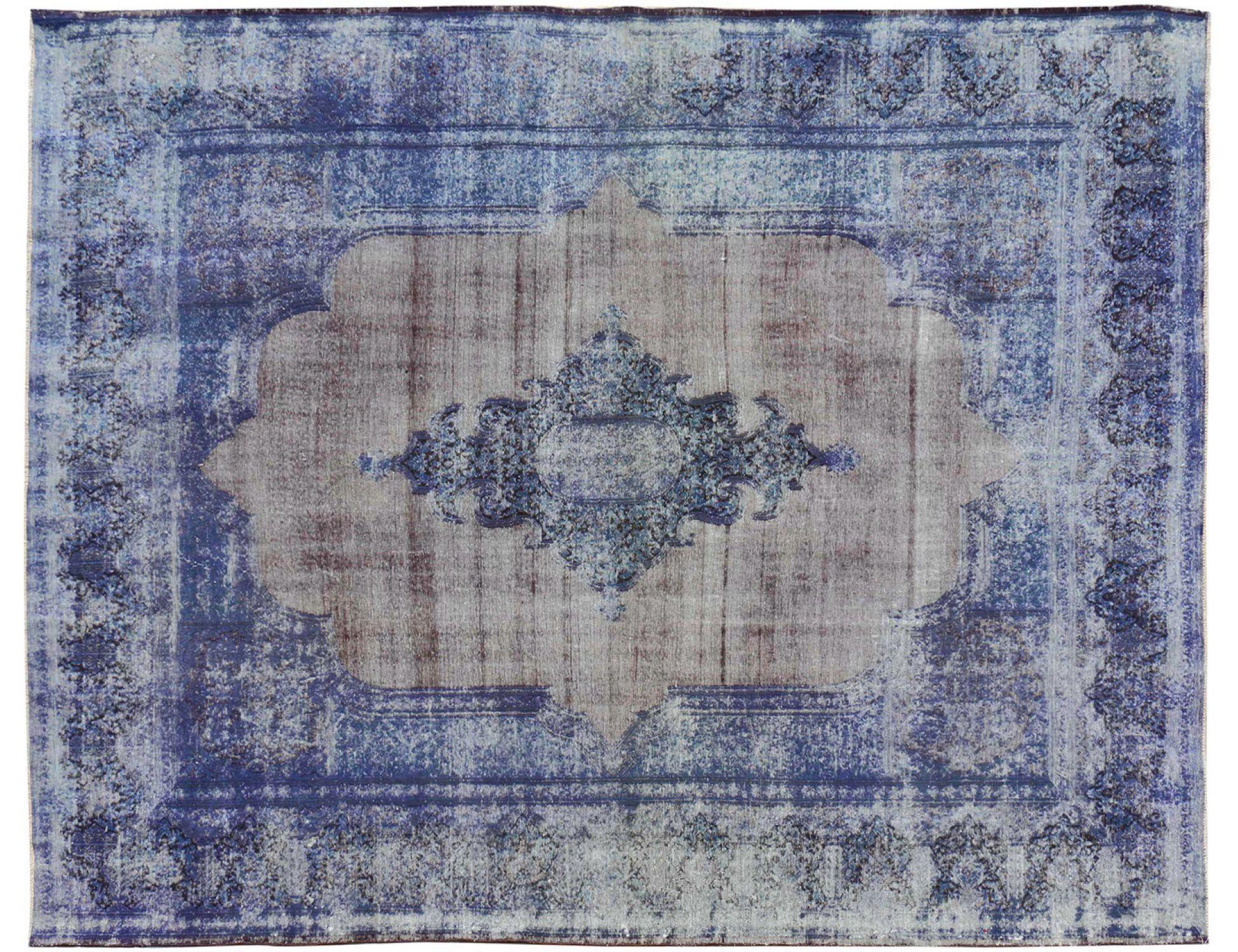 Vintage Perserteppich  blau <br/>384 x 283 cm