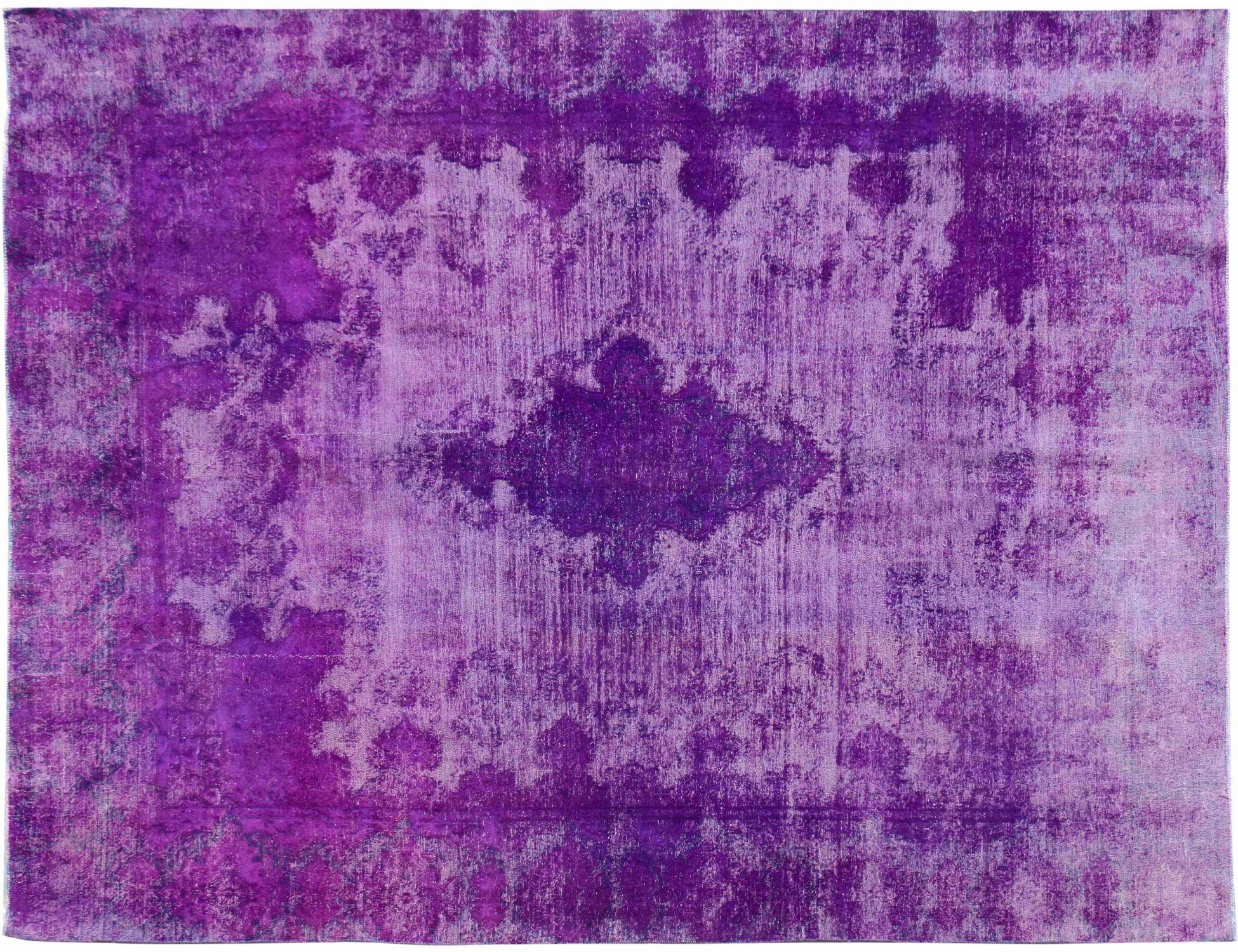 Tappeto Vintage  viola <br/>368 x 268 cm