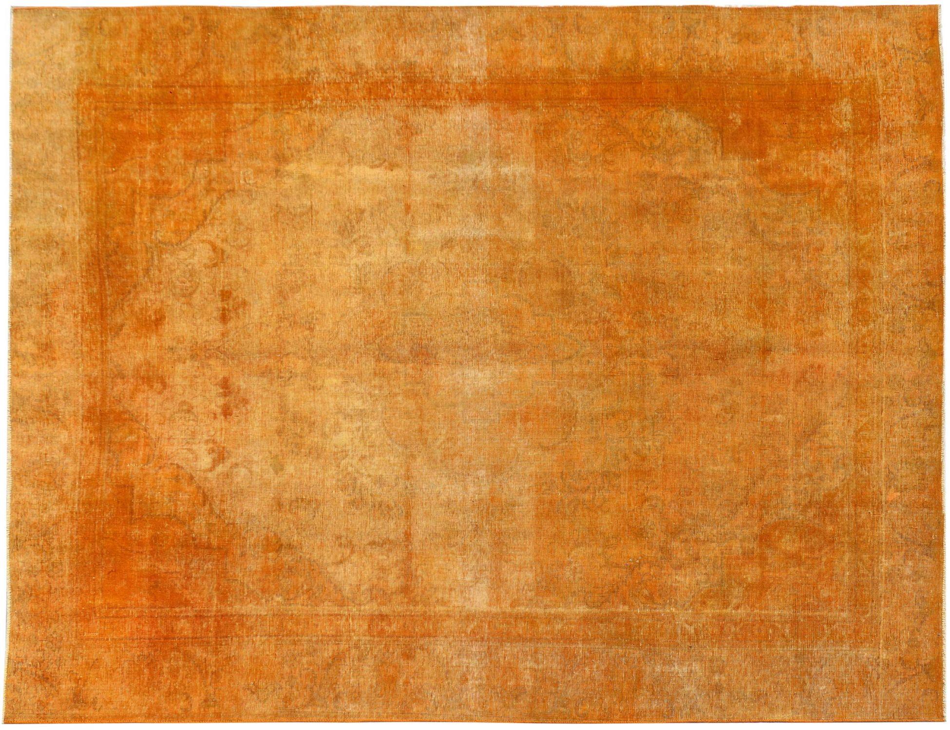 Vintage Perserteppich  orange <br/>345 x 268 cm