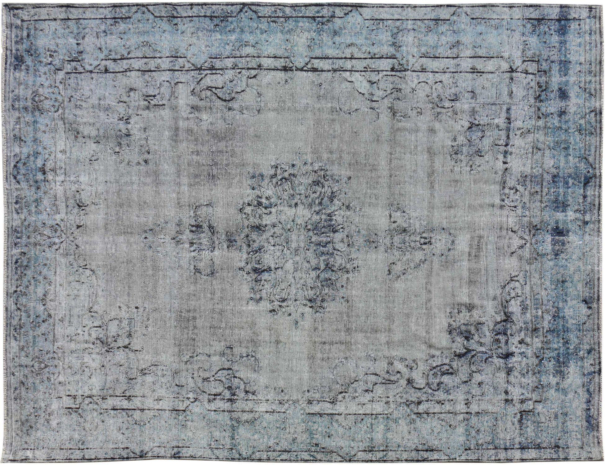 Tappeto Vintage  blu <br/>355 x 268 cm