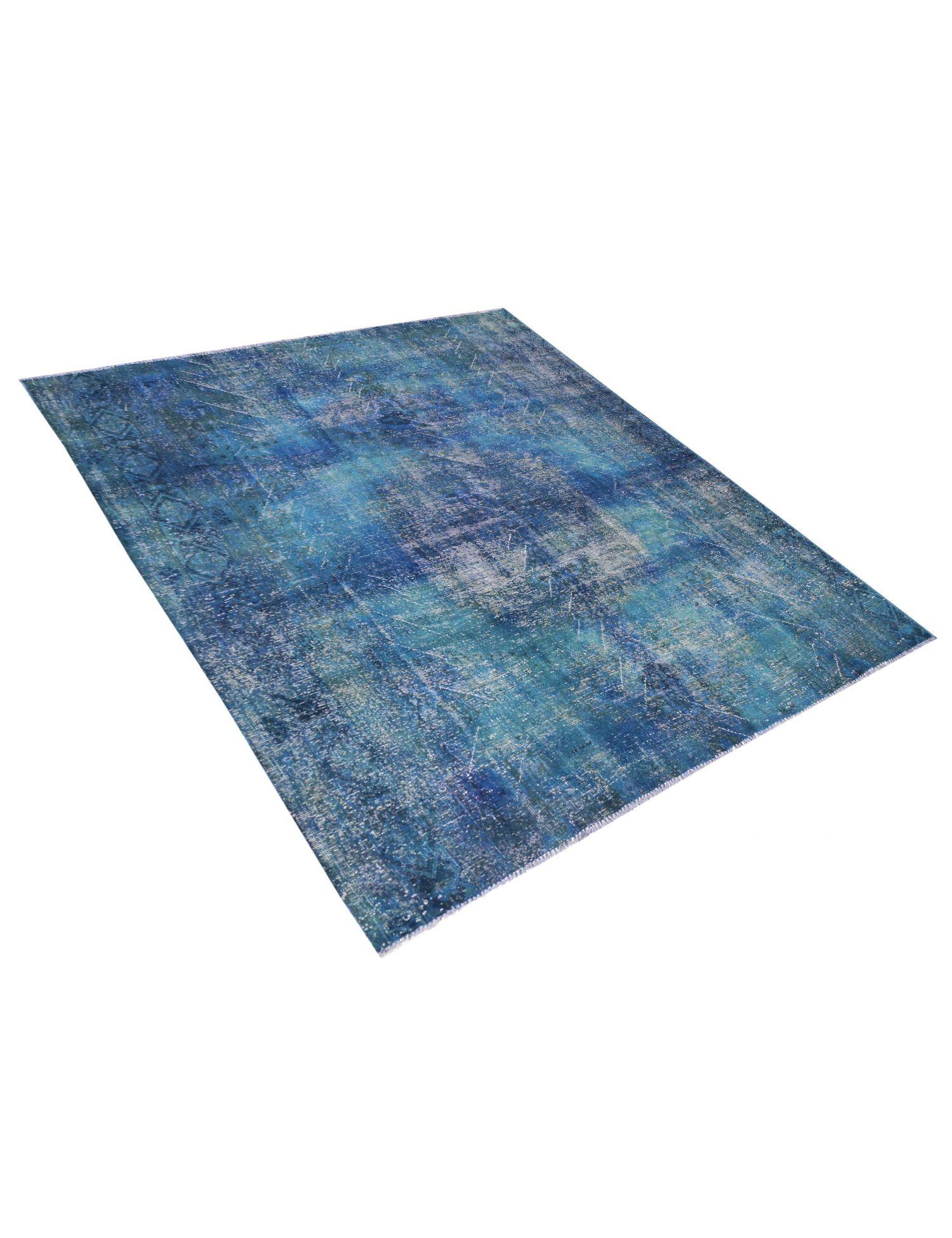 Tappeto Vintage  blu <br/>264 x 241 cm