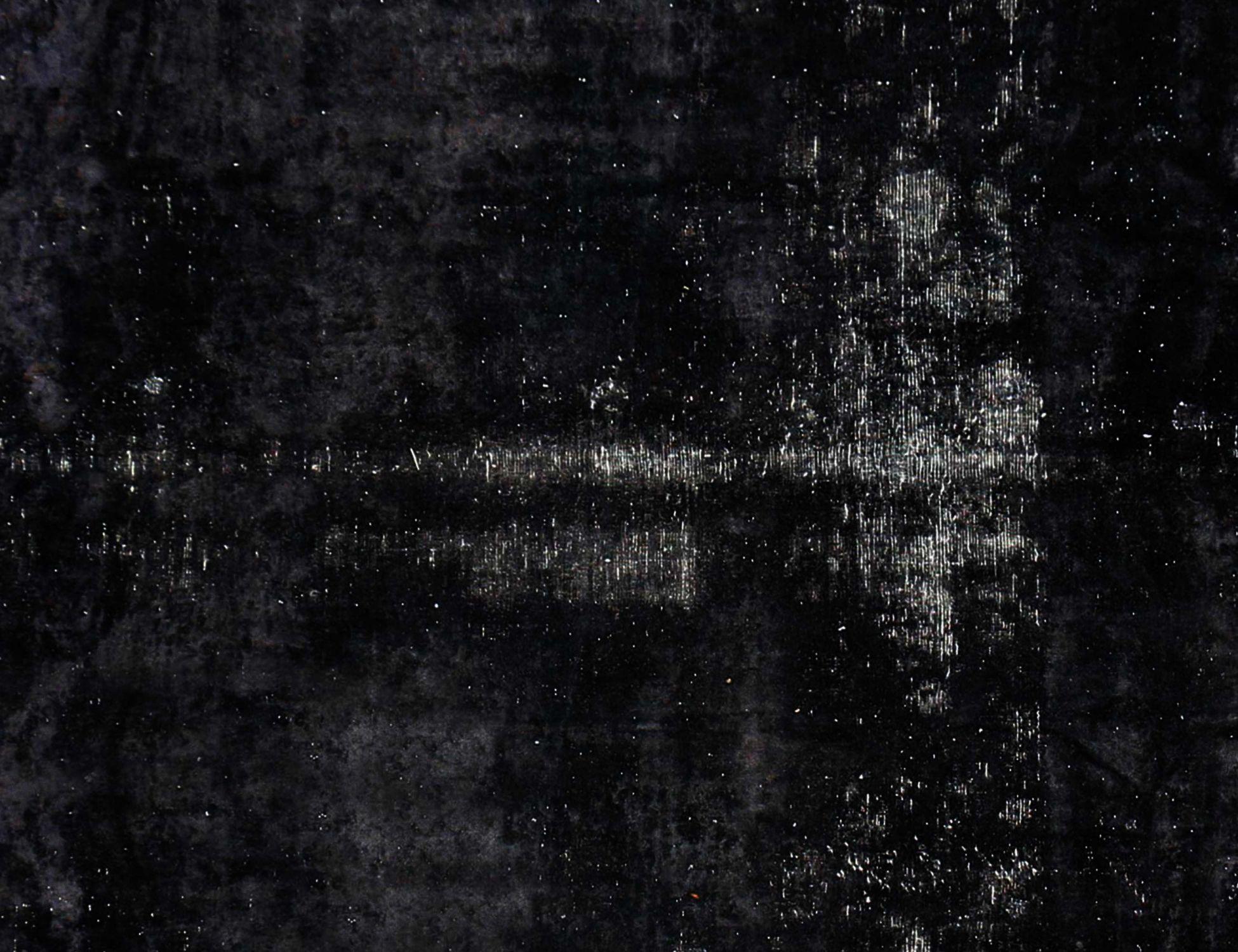 Tappeto Vintage  nero <br/>363 x 289 cm