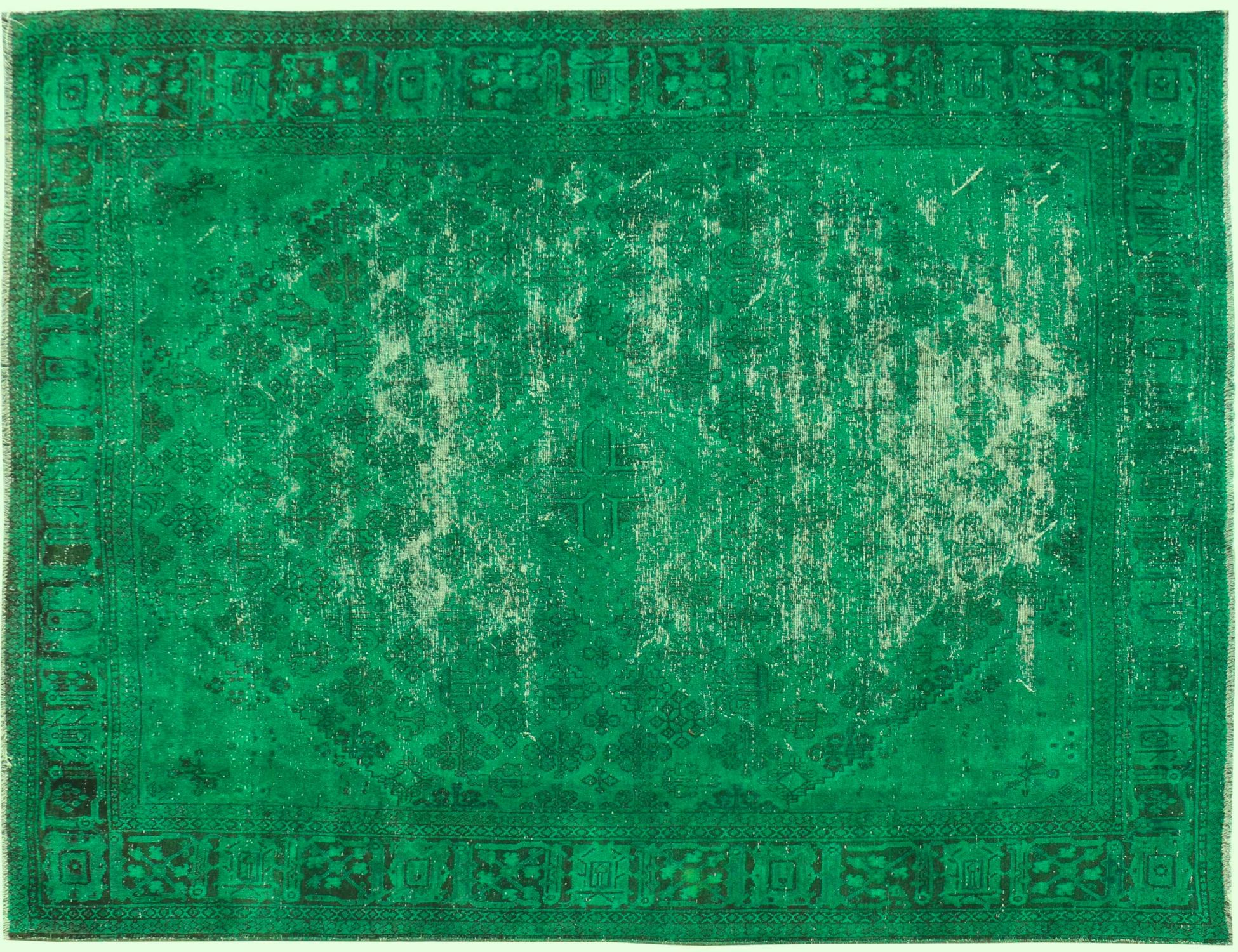 Vintage Perserteppich  grün <br/>335 x 235 cm