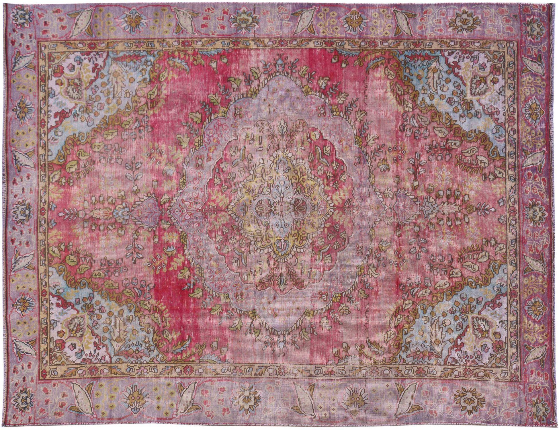 Retro Perserteppich  lila <br/>285 x 187 cm