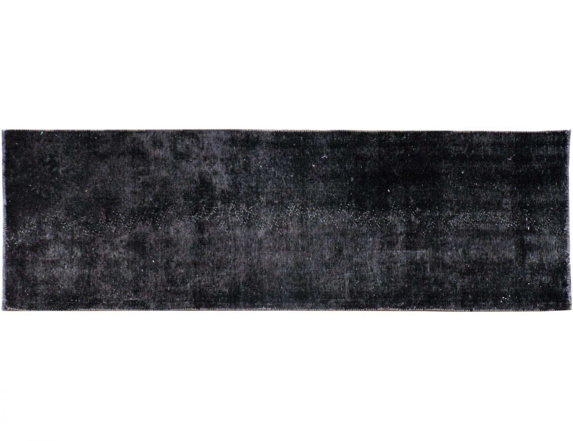 Vintage Perserteppich  schwarz <br/>225 x 70 cm