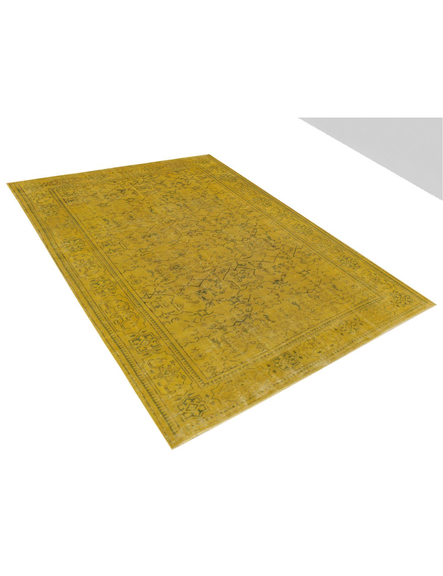 Tappeto Vintage  giallo <br/>305 x 205 cm