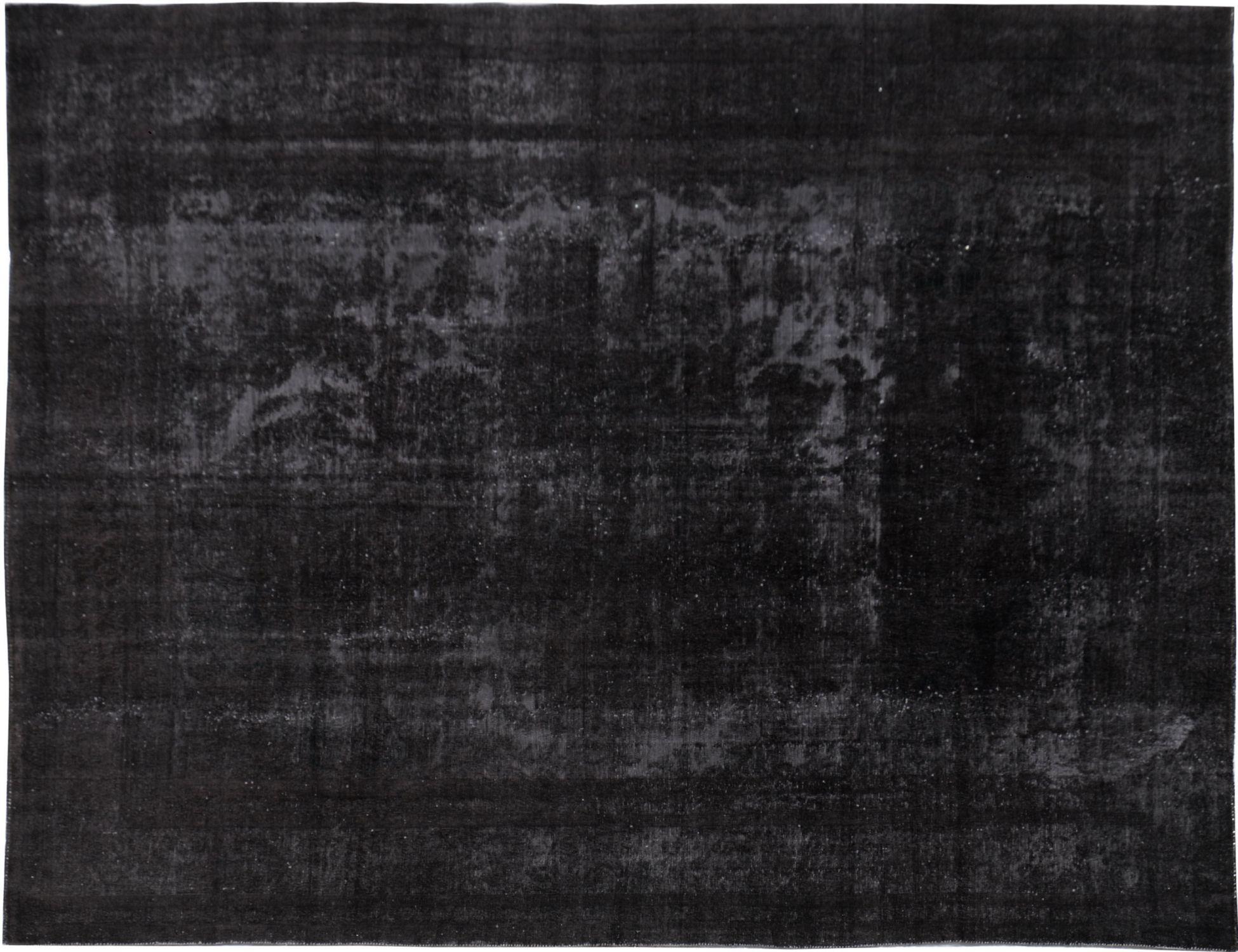 Vintage Perserteppich  schwarz <br/>358 x 257 cm