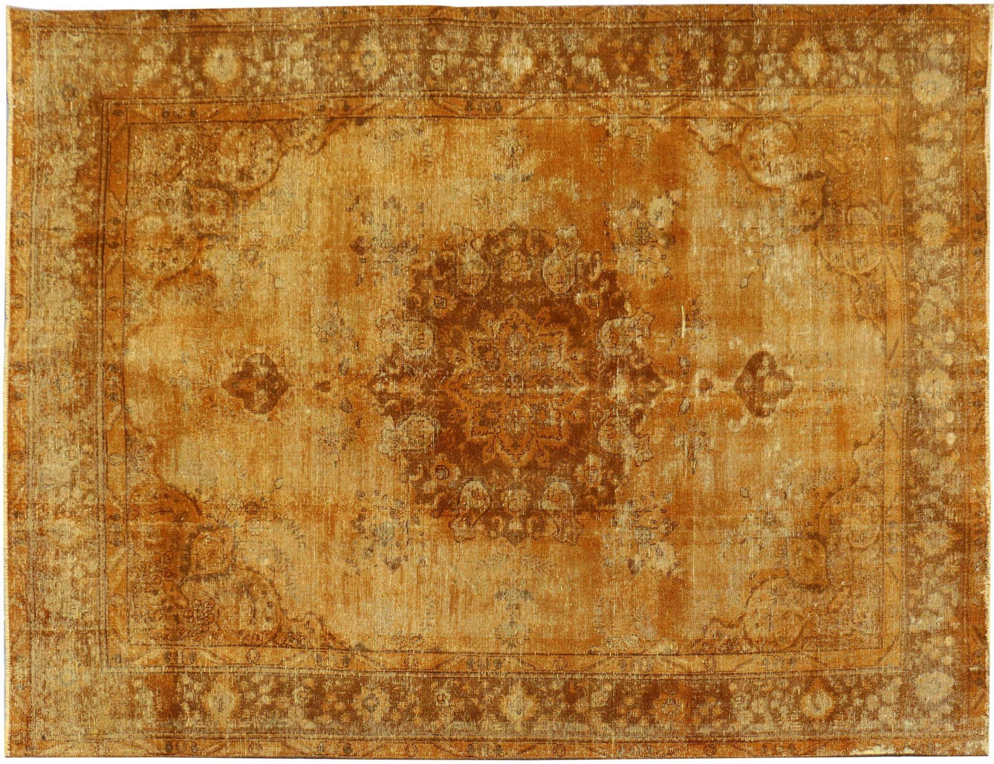 Vintage Perserteppich  gelb <br/>394 x 290 cm