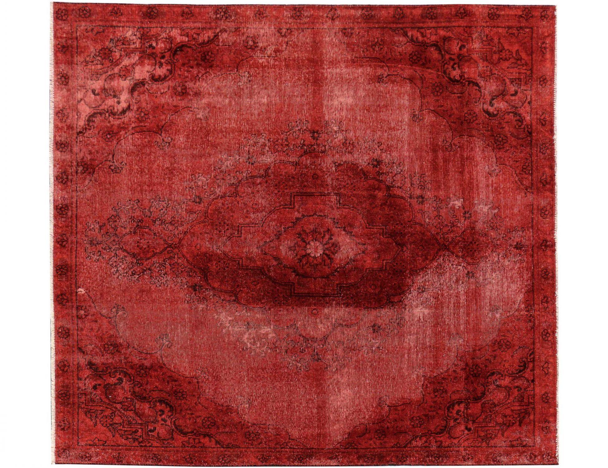Vintage Teppich  rot <br/>236 x 232 cm