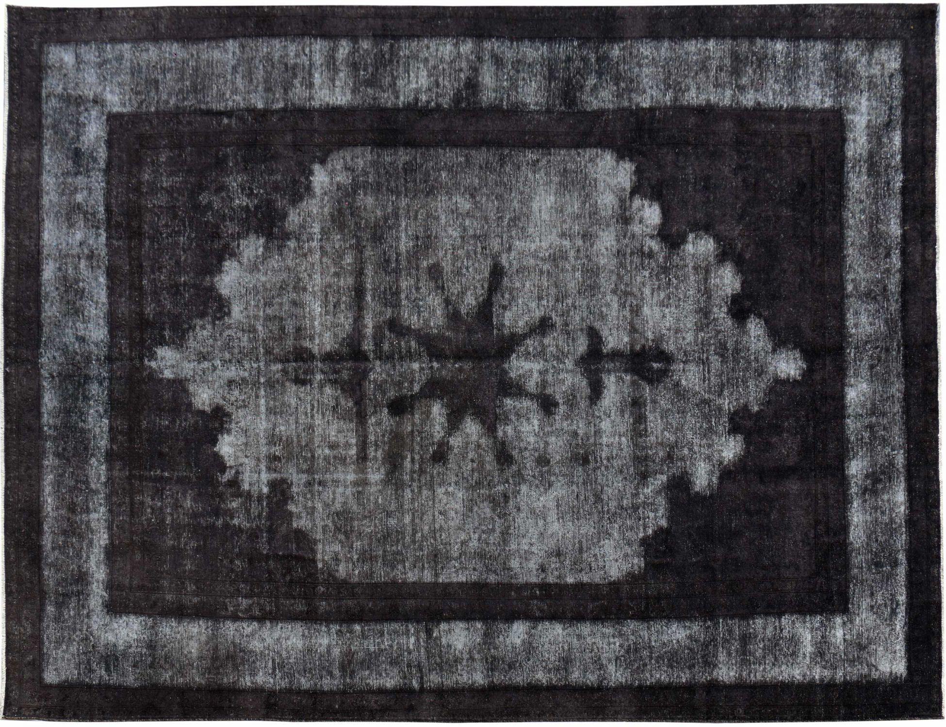 Vintage Perserteppich  schwarz <br/>410 x 283 cm