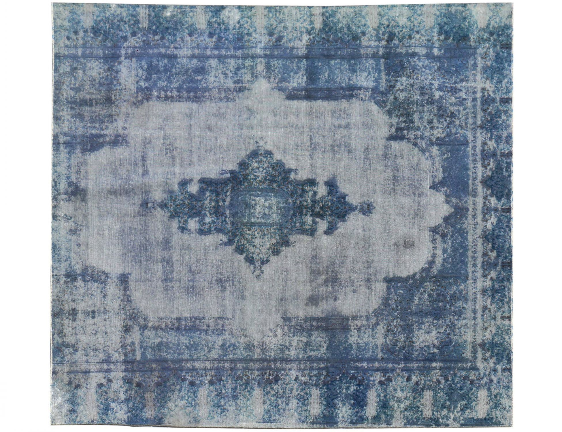 Tappeto Vintage  blu <br/>270 x 242 cm