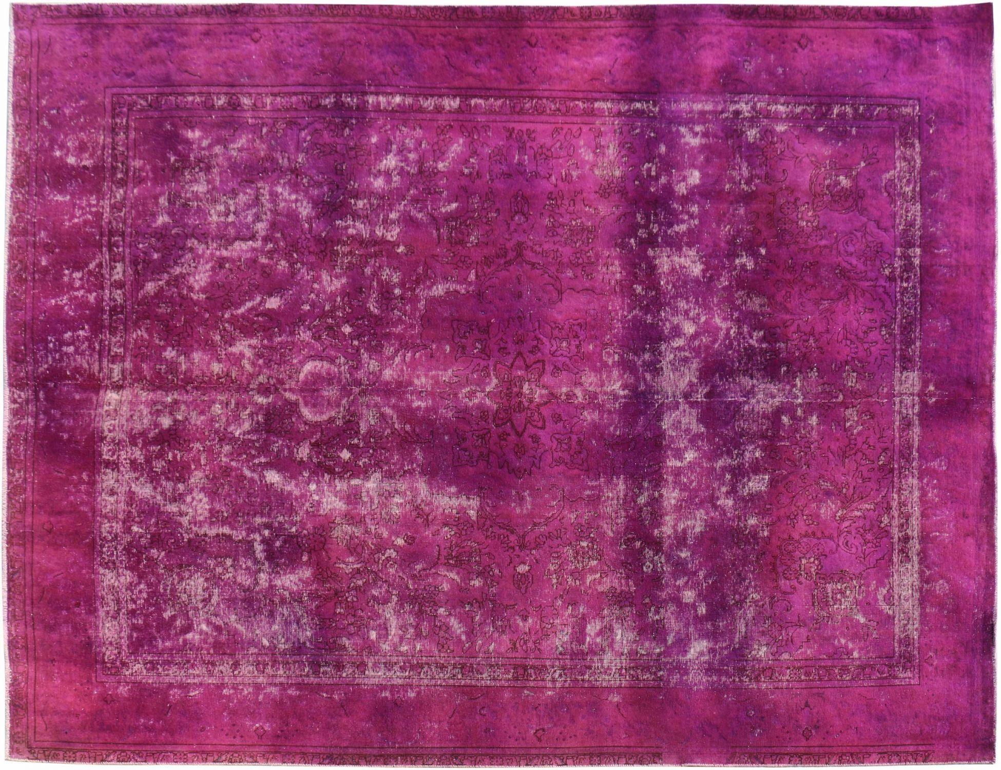 Tappeto Vintage  viola <br/>356 x 284 cm