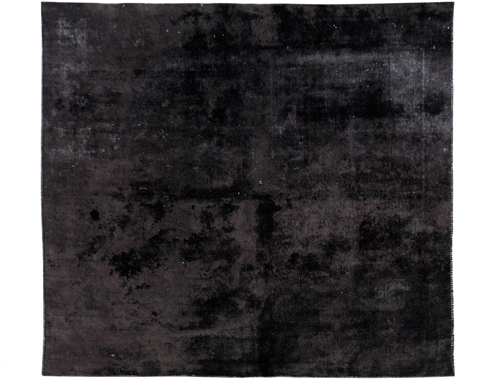 Vintage Perserteppich  schwarz <br/>233 x 240 cm