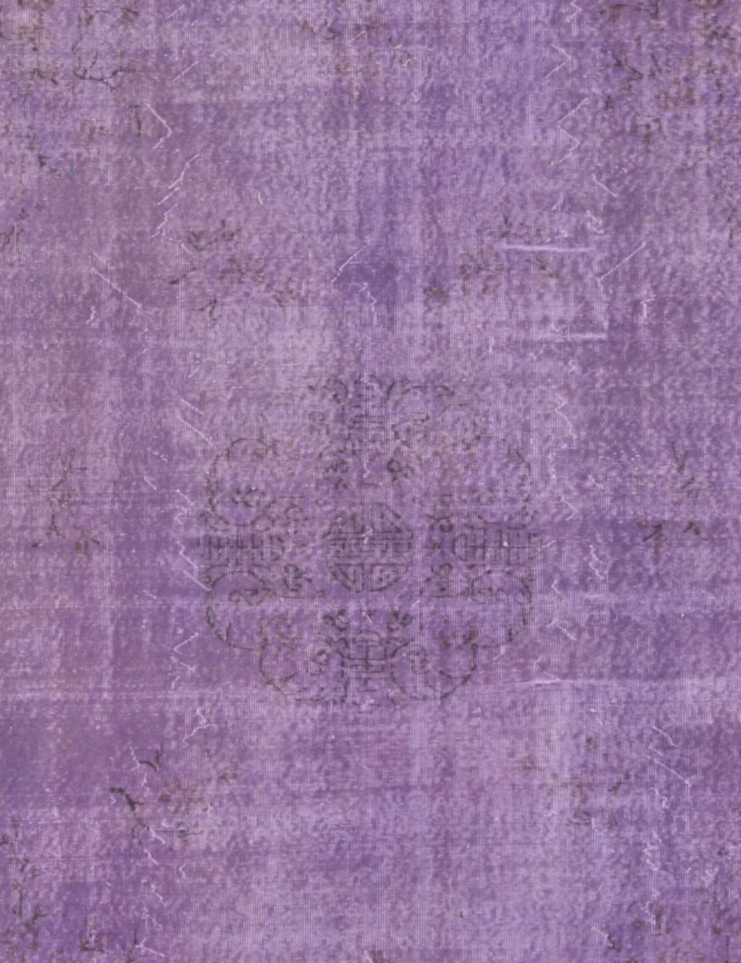 Vintage Teppich  lila <br/>306 x 210 cm