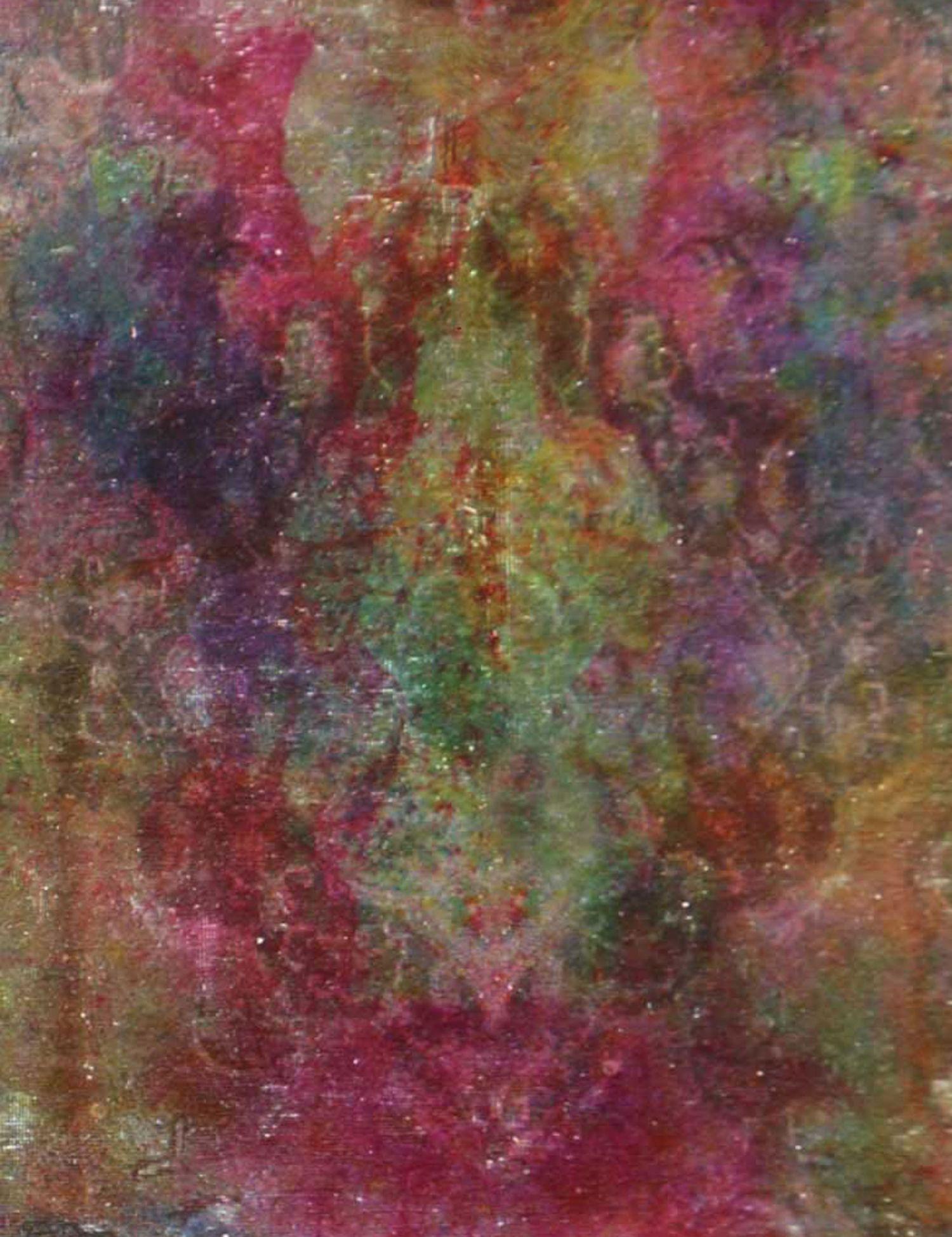 Vintage Perserteppich  grün <br/>374 x 270 cm