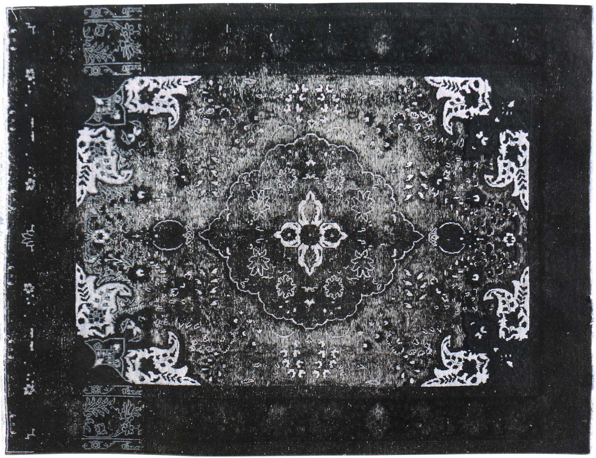Vintage Perserteppich  schwarz <br/>278 x 195 cm
