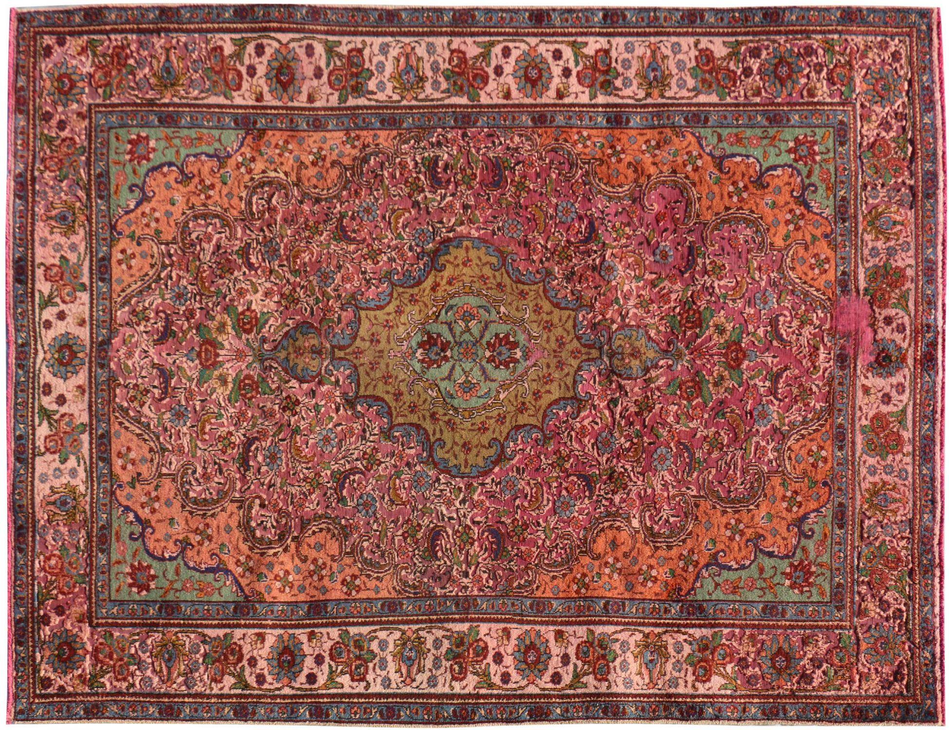 Retro Perserteppich  rosa <br/>300 x 207 cm