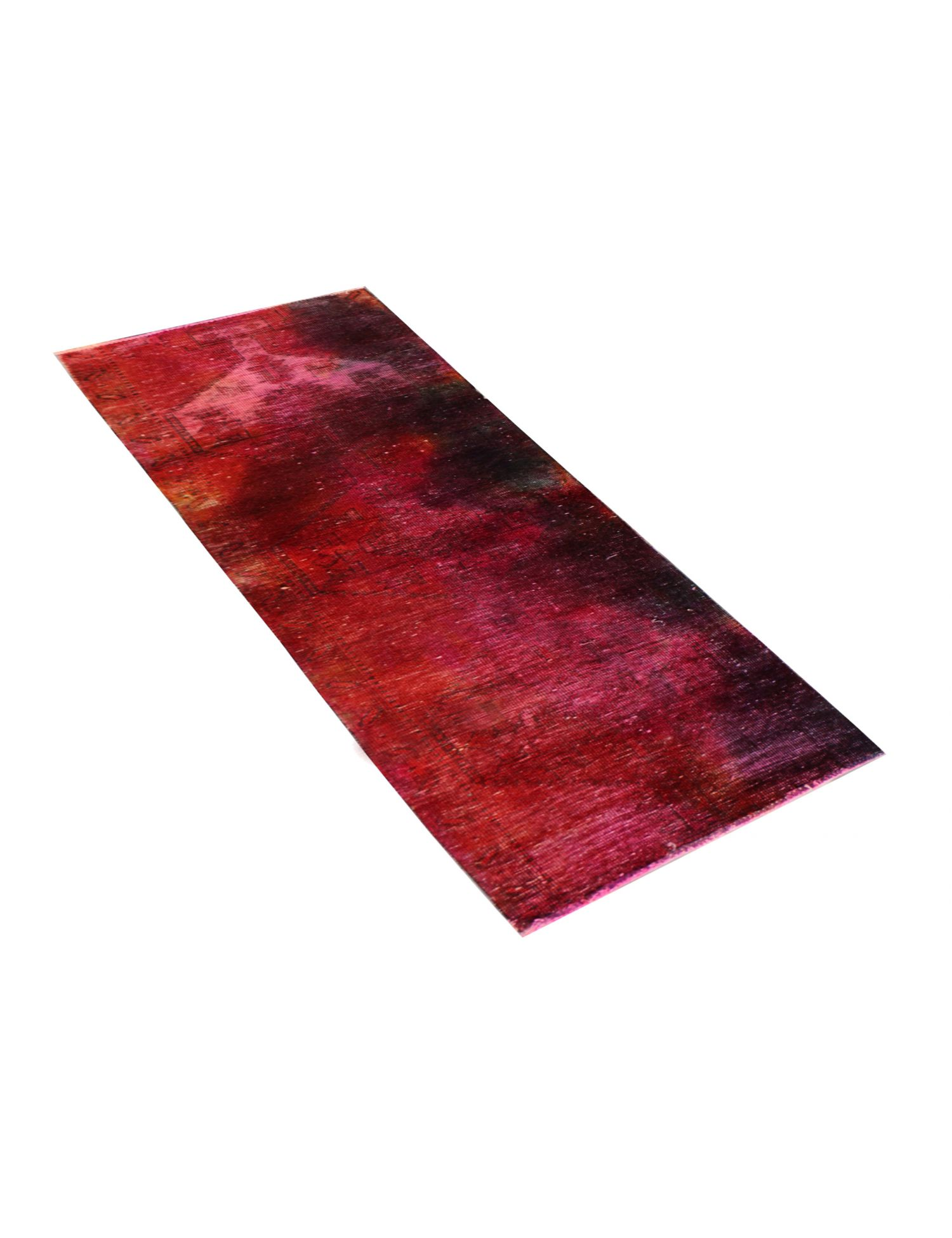 Vintage Teppich  rot <br/>205 x 70 cm