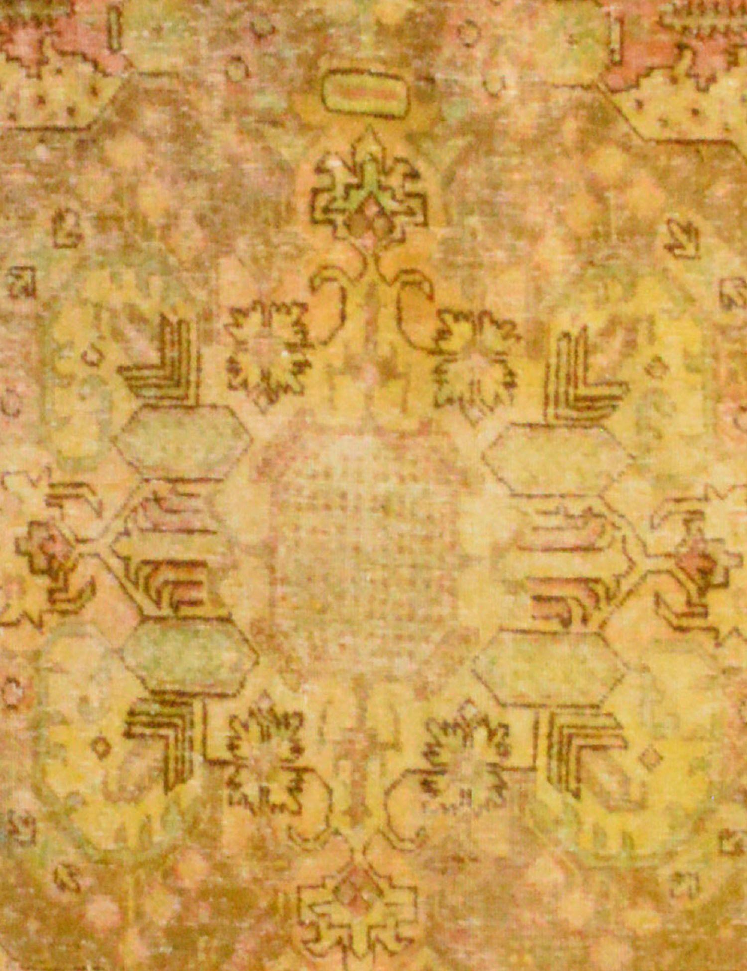 Tappeto Vintage  giallo <br/>394 x 286 cm