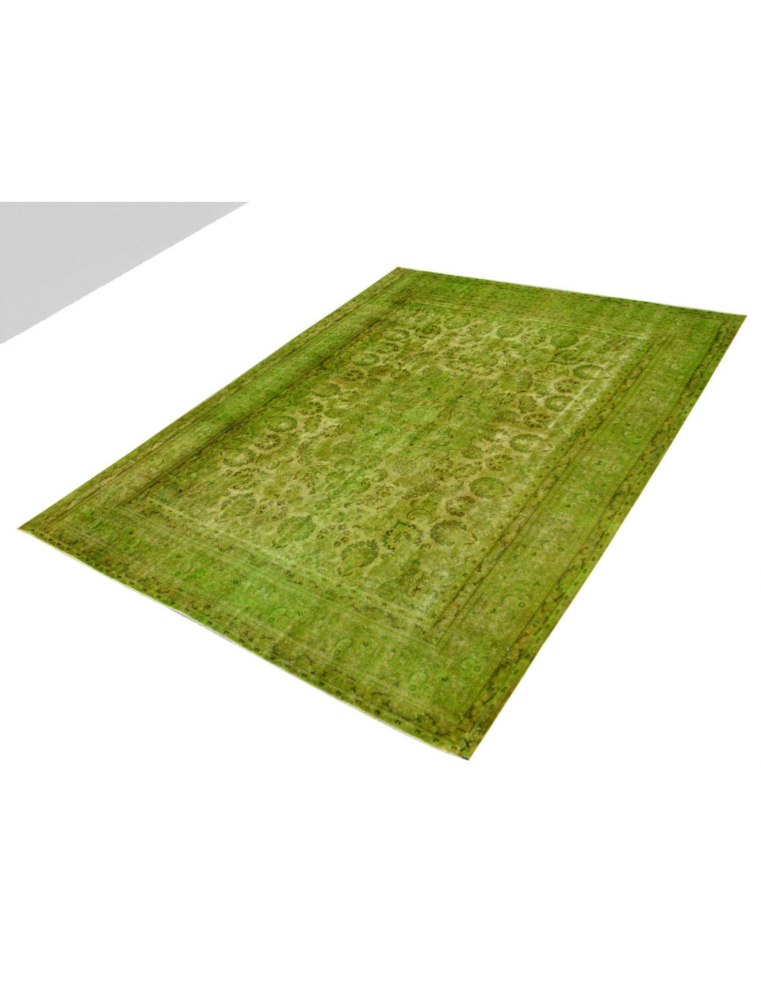 Vintage Teppich  grün <br/>377 x 289 cm