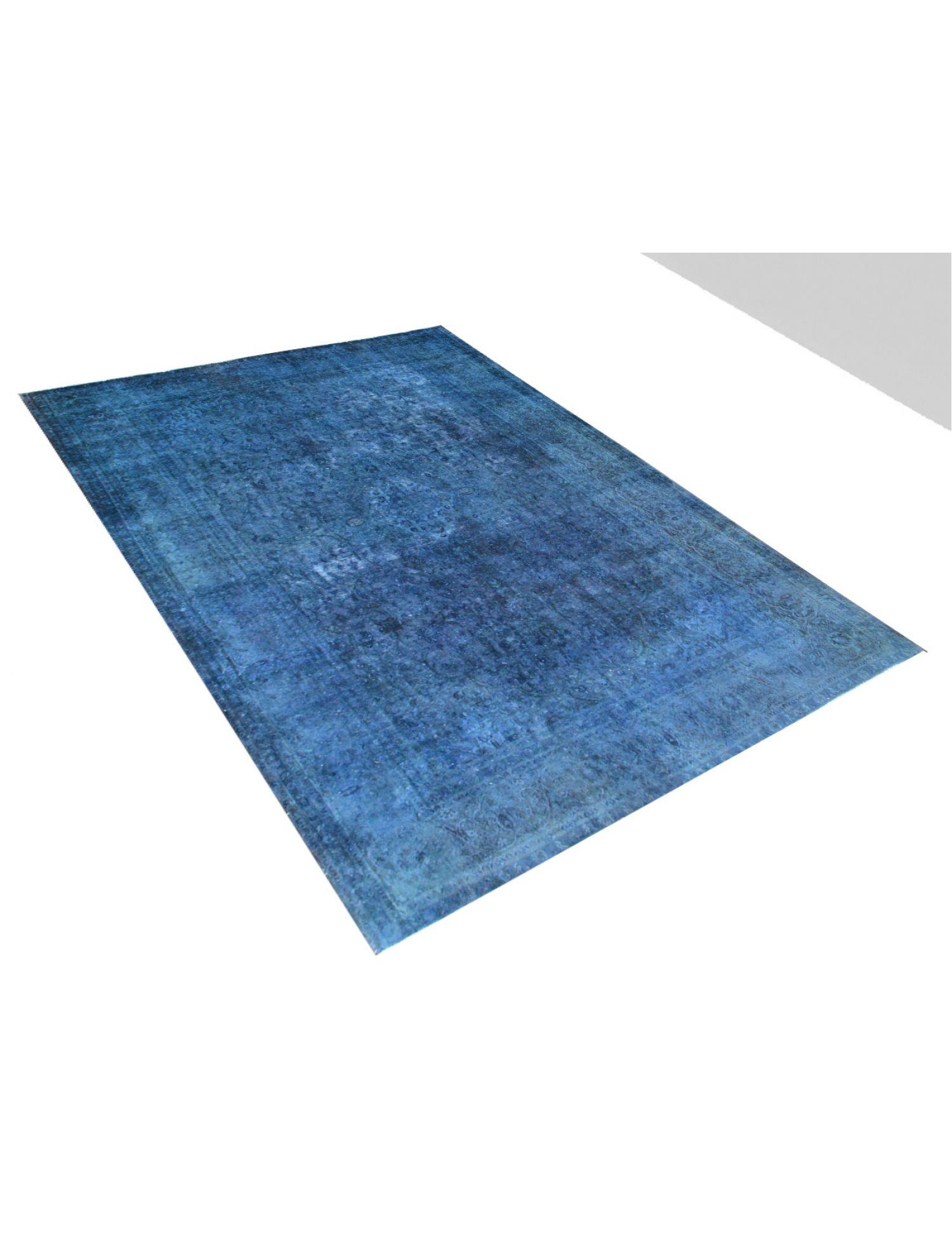 Vintage Teppich  blau <br/>385 x 296 cm