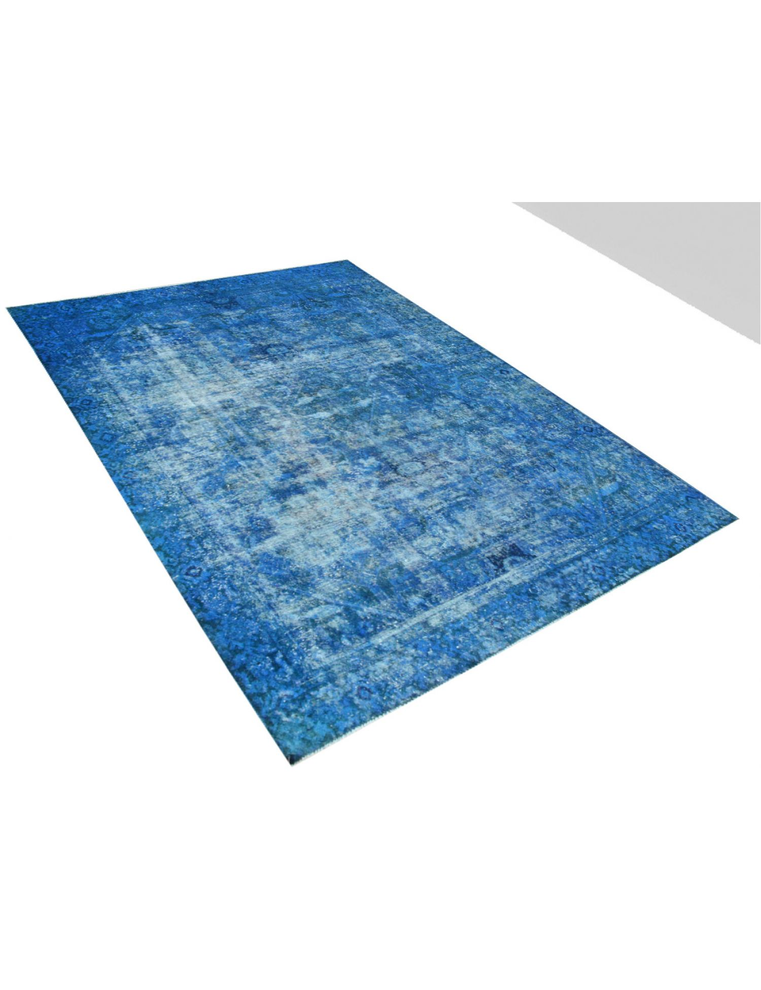 Tappeto Vintage  blu <br/>355 x 271 cm