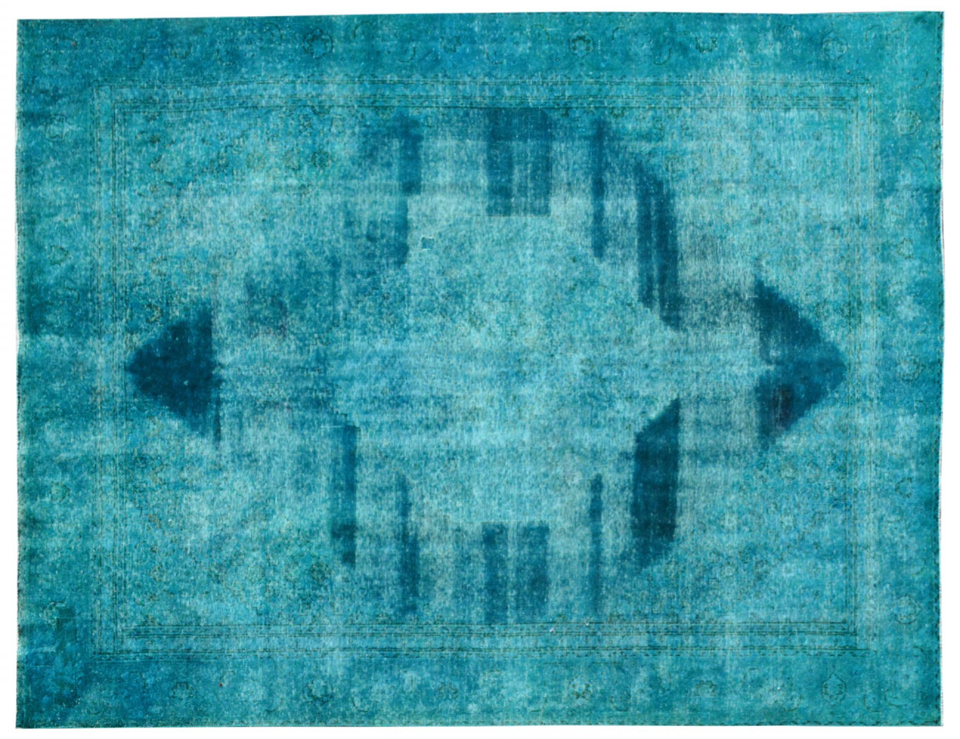Tapis Vintage  turquoise <br/>367 x 260 cm