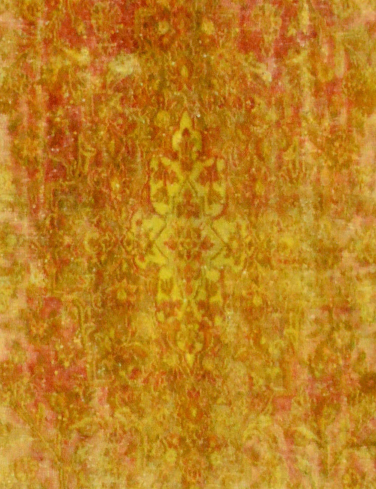 Tappeto Vintage  giallo <br/>370 x 291 cm