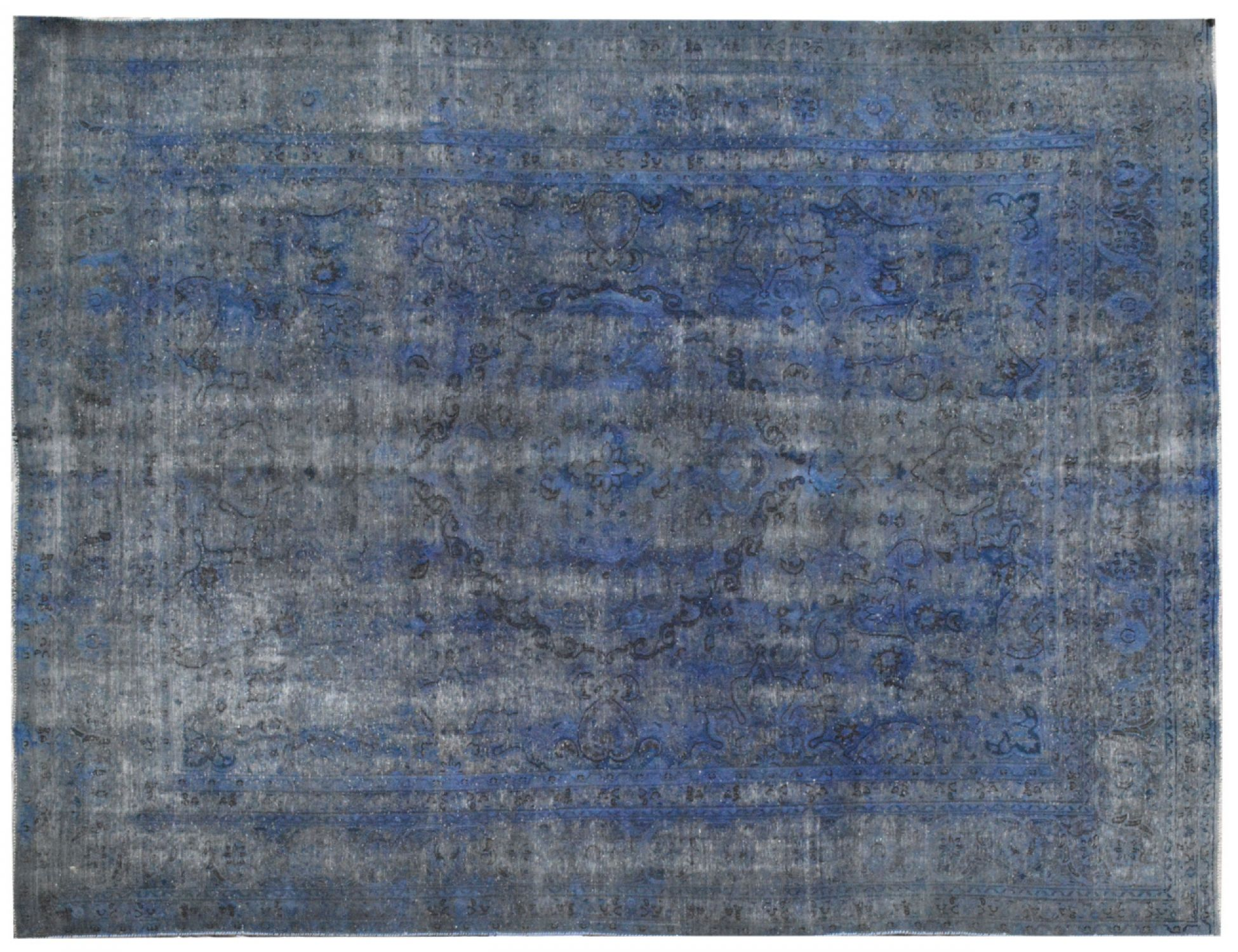 Tappeto Vintage  blu <br/>375 x 283 cm