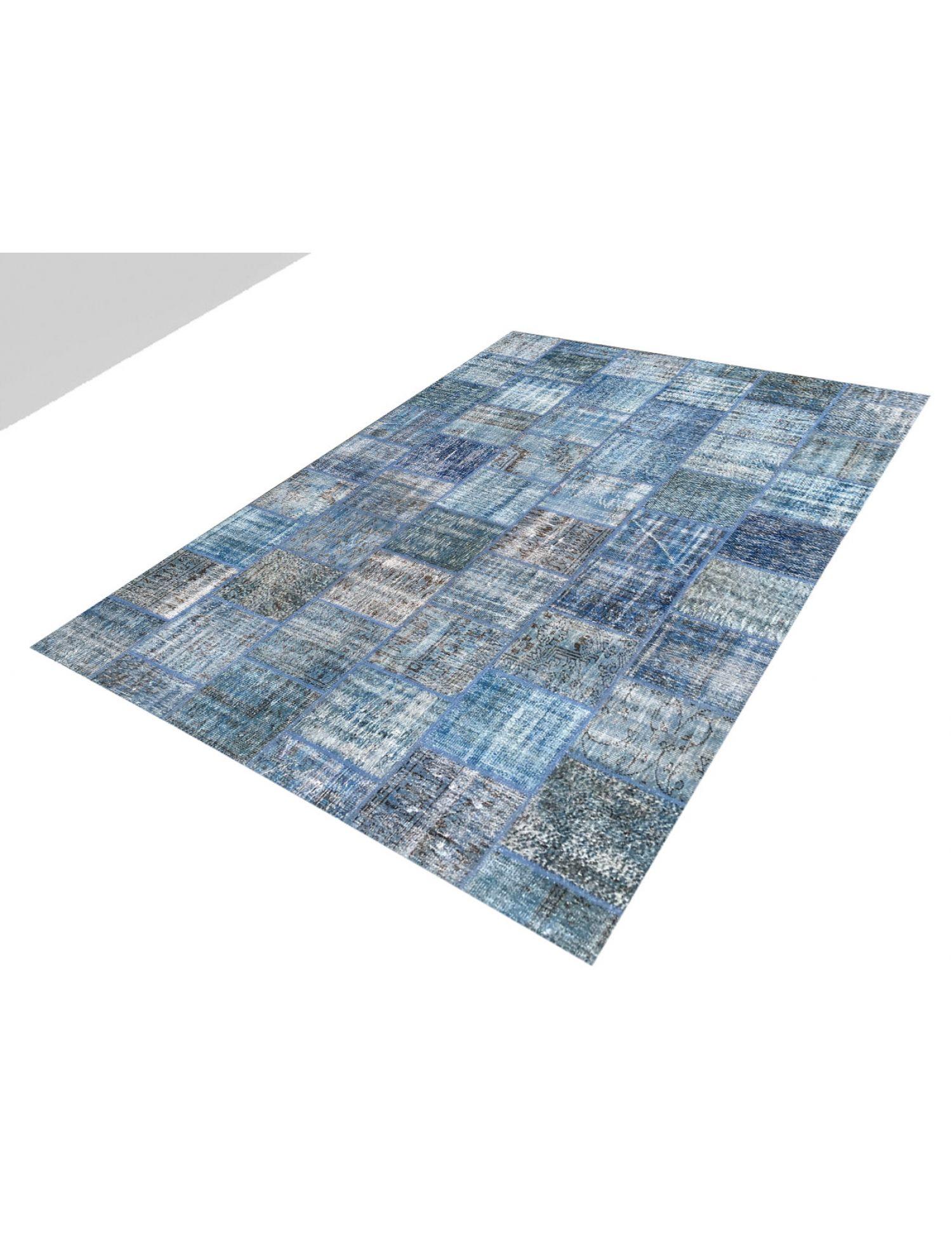 Tappeto Patchwork  blu <br/>355 x 253 cm