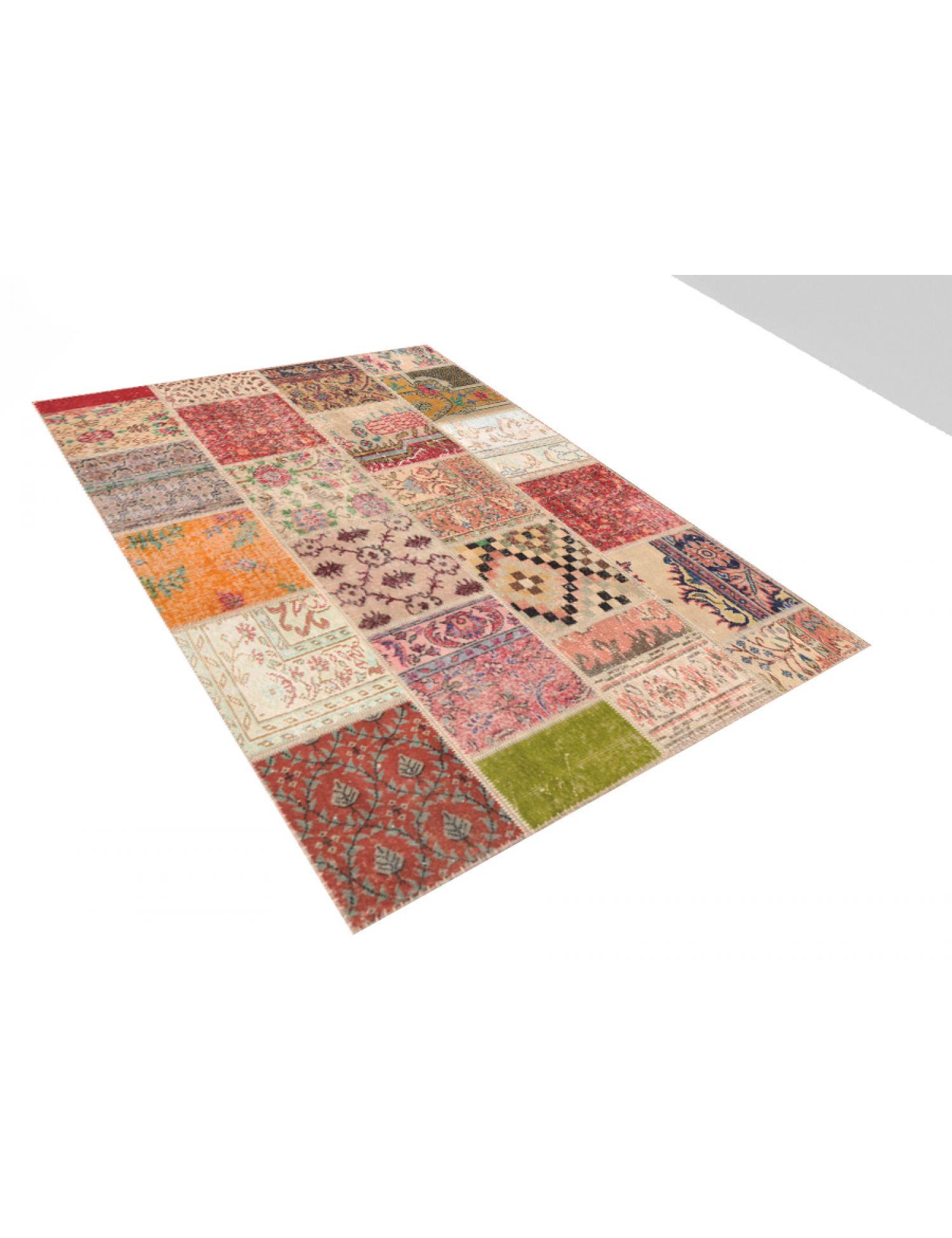 Tappeto Patchwork  multicolore <br/>200 x 160 cm