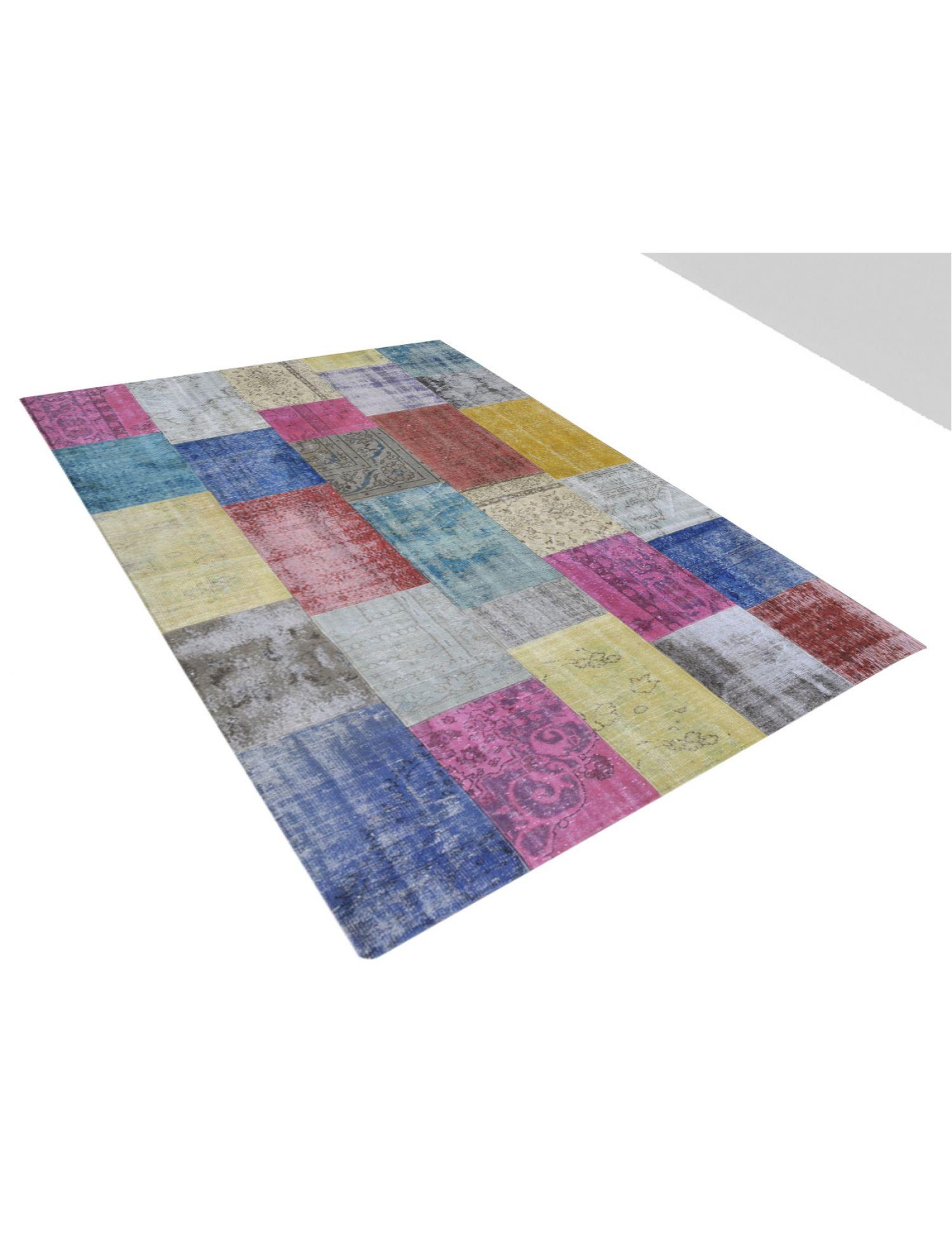 Patchwork Carpet   multicolor <br/>300 x 203 cm