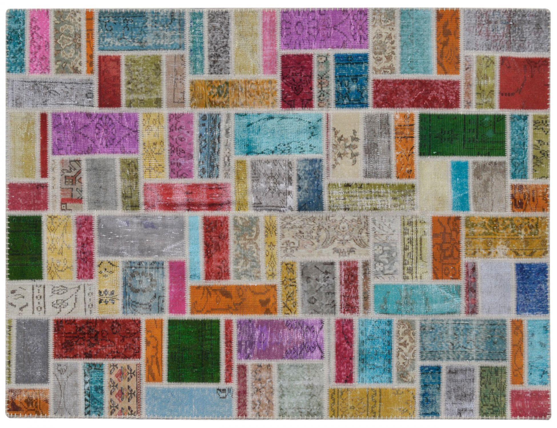 Patchwork Tappeto  multi colore <br/>240 x 170 cm