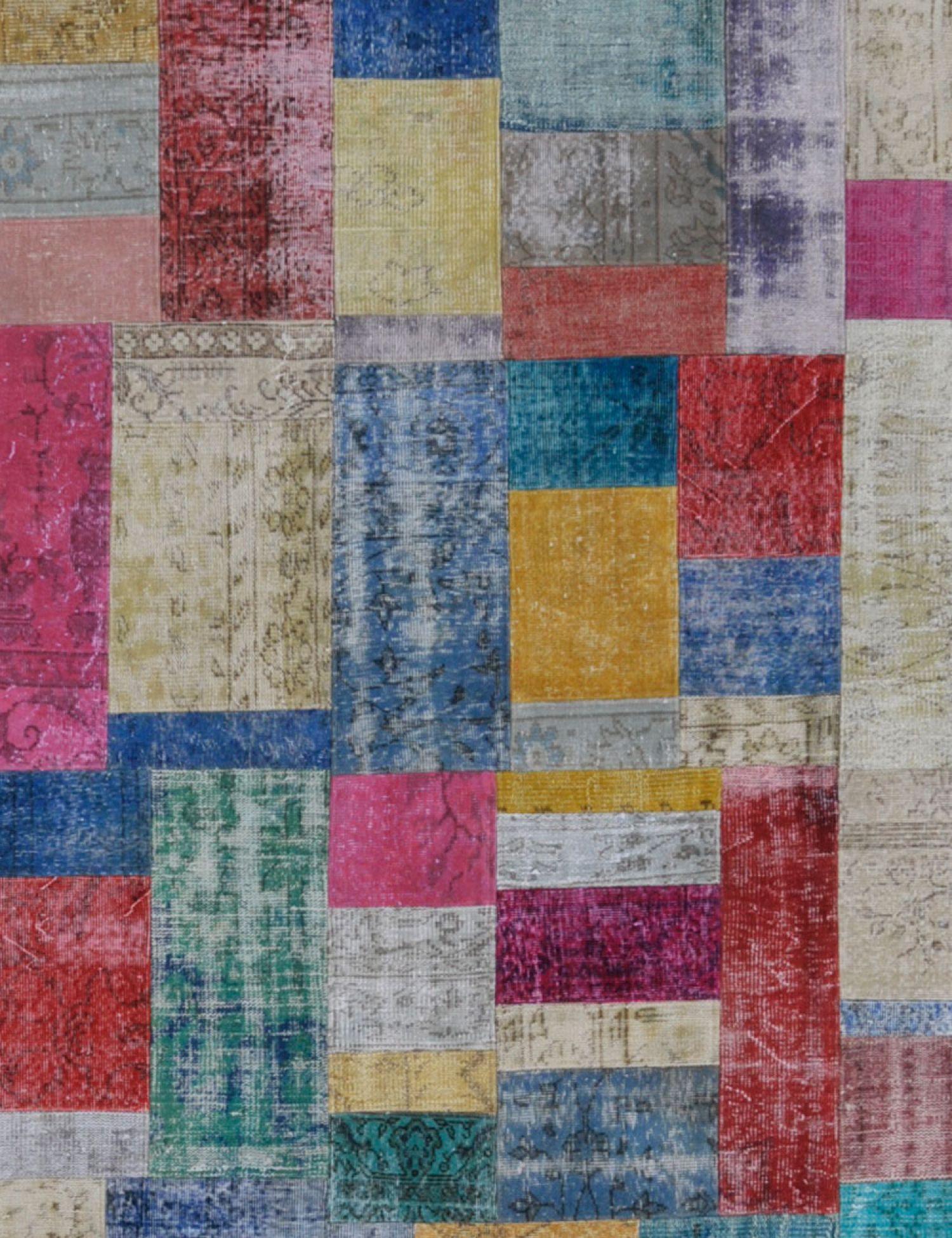 Tapis Patchwork  multicolore <br/>301 x 203 cm