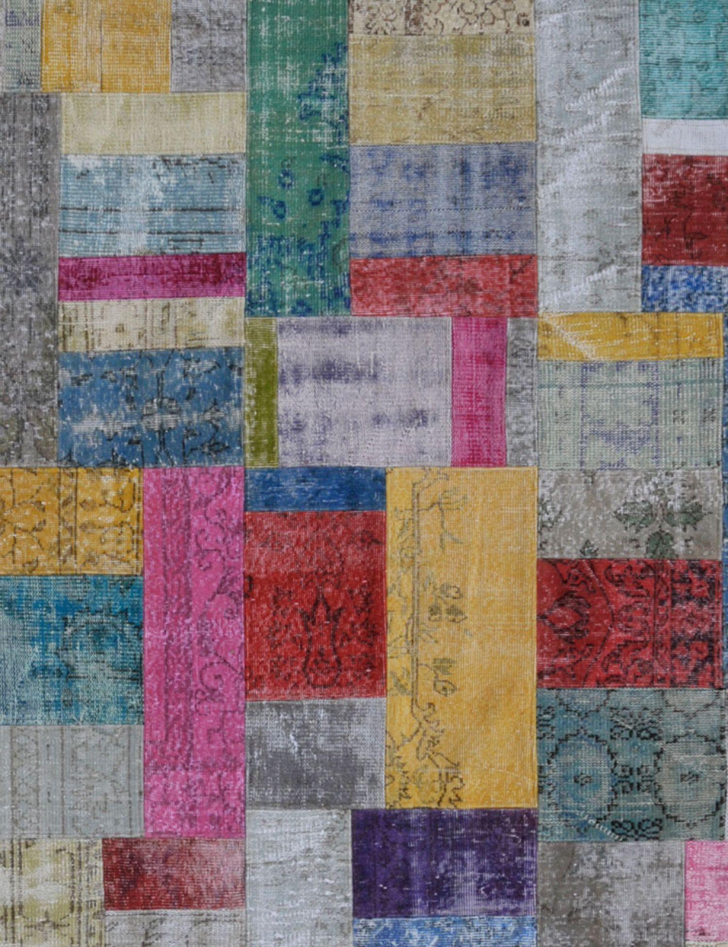 Patchwork Carpet   multicolor <br/>240 x 172 cm