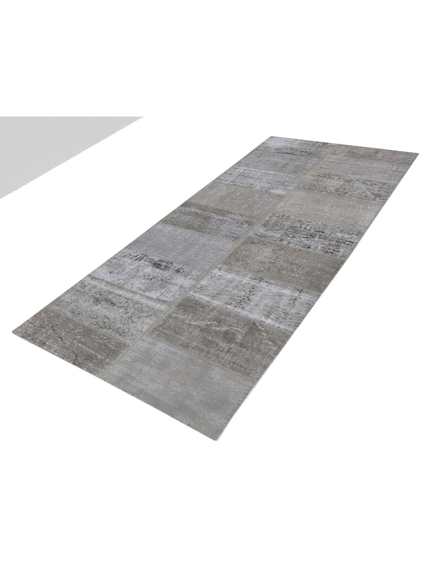Patchwork Carpet   grey <br/>350 x 80 cm
