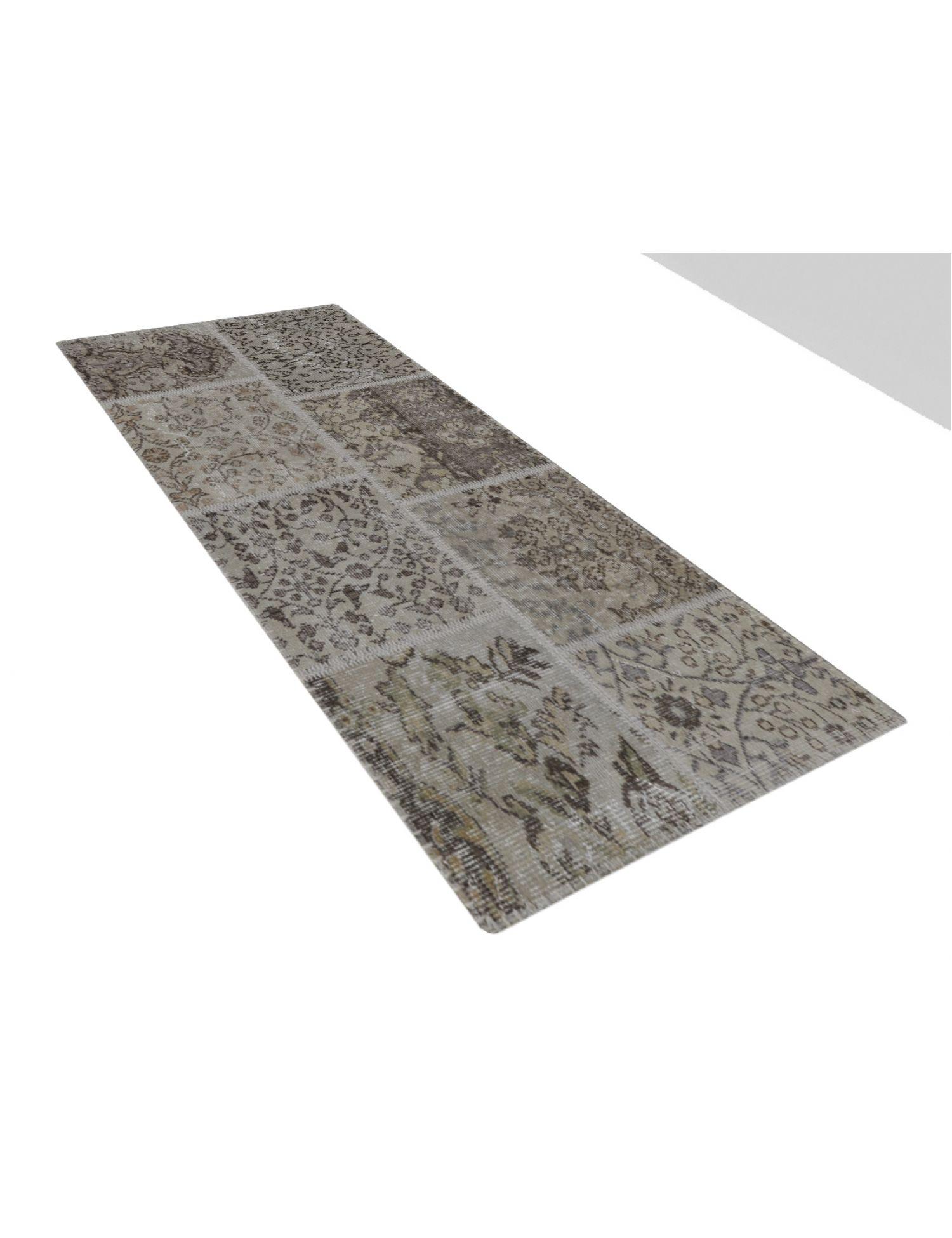Patchwork Carpet   blue <br/>150 x 80 cm