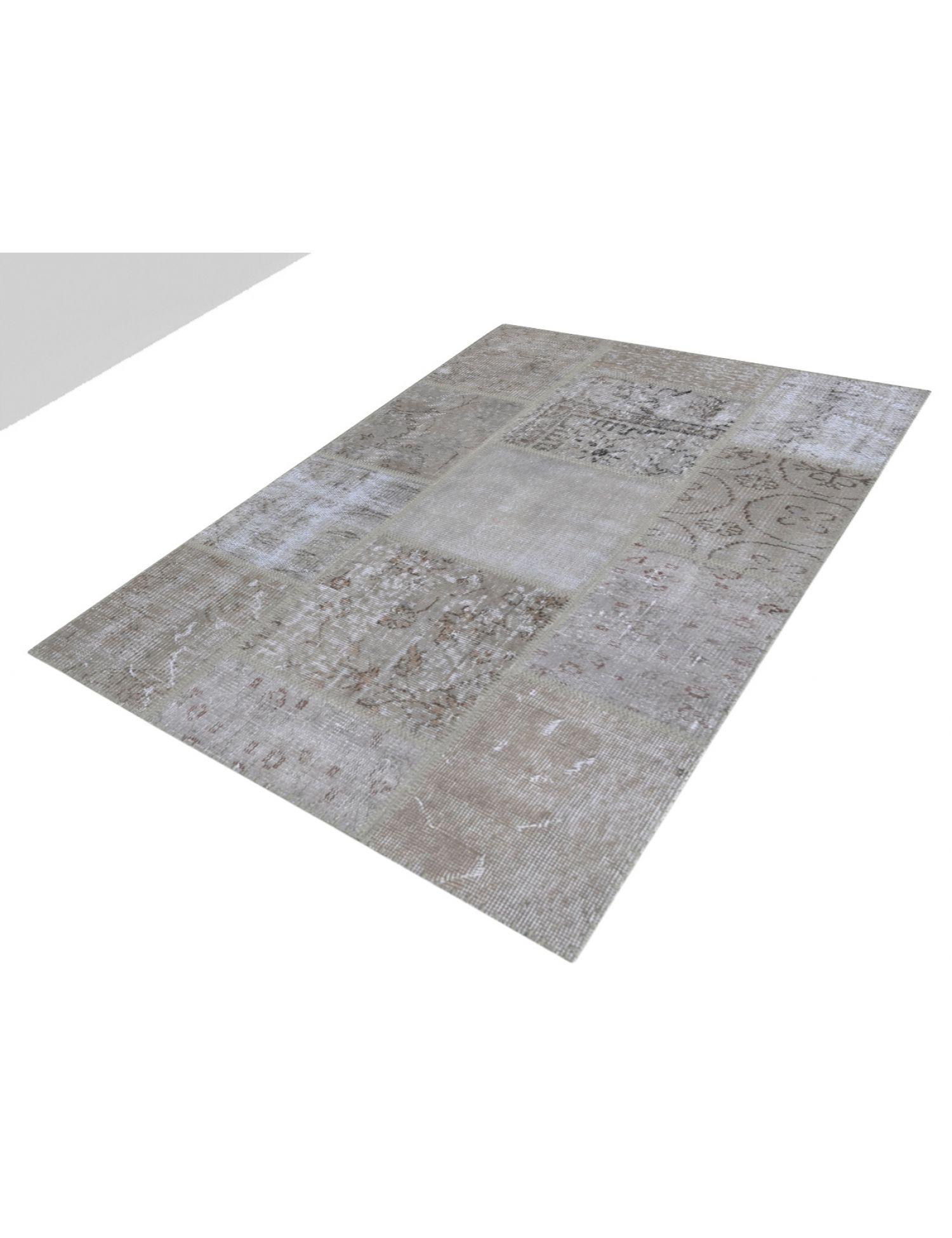 Tappeto Patchwork  grigio <br/>150 x 100 cm