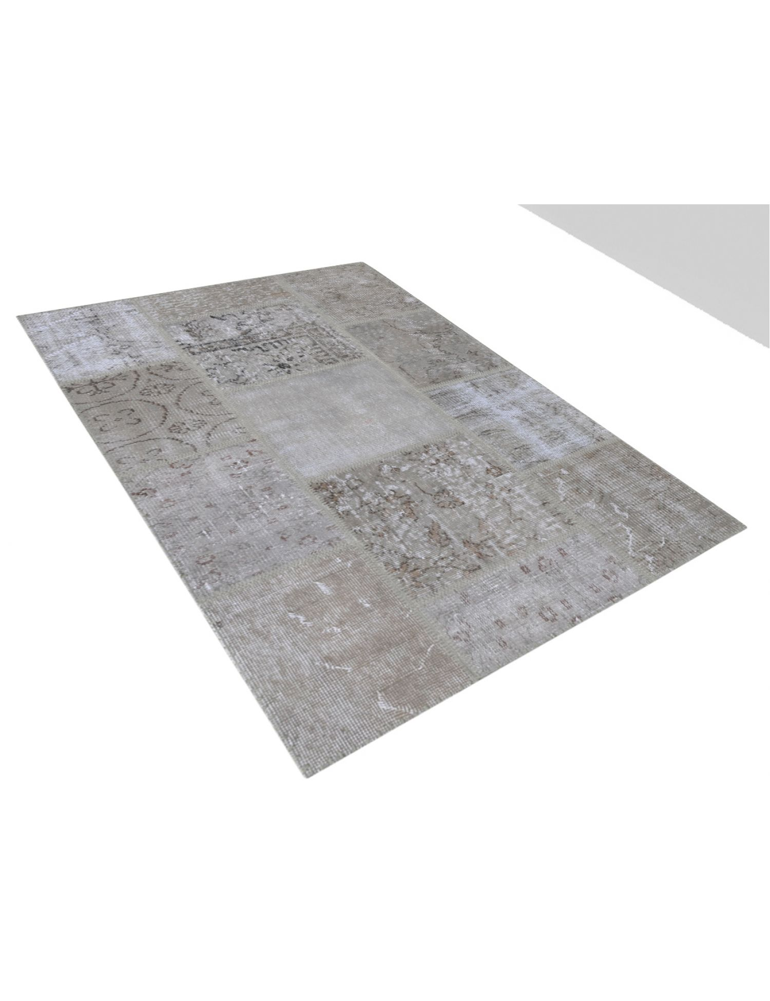 Patchwork Carpet   blue <br/>150 x 100 cm