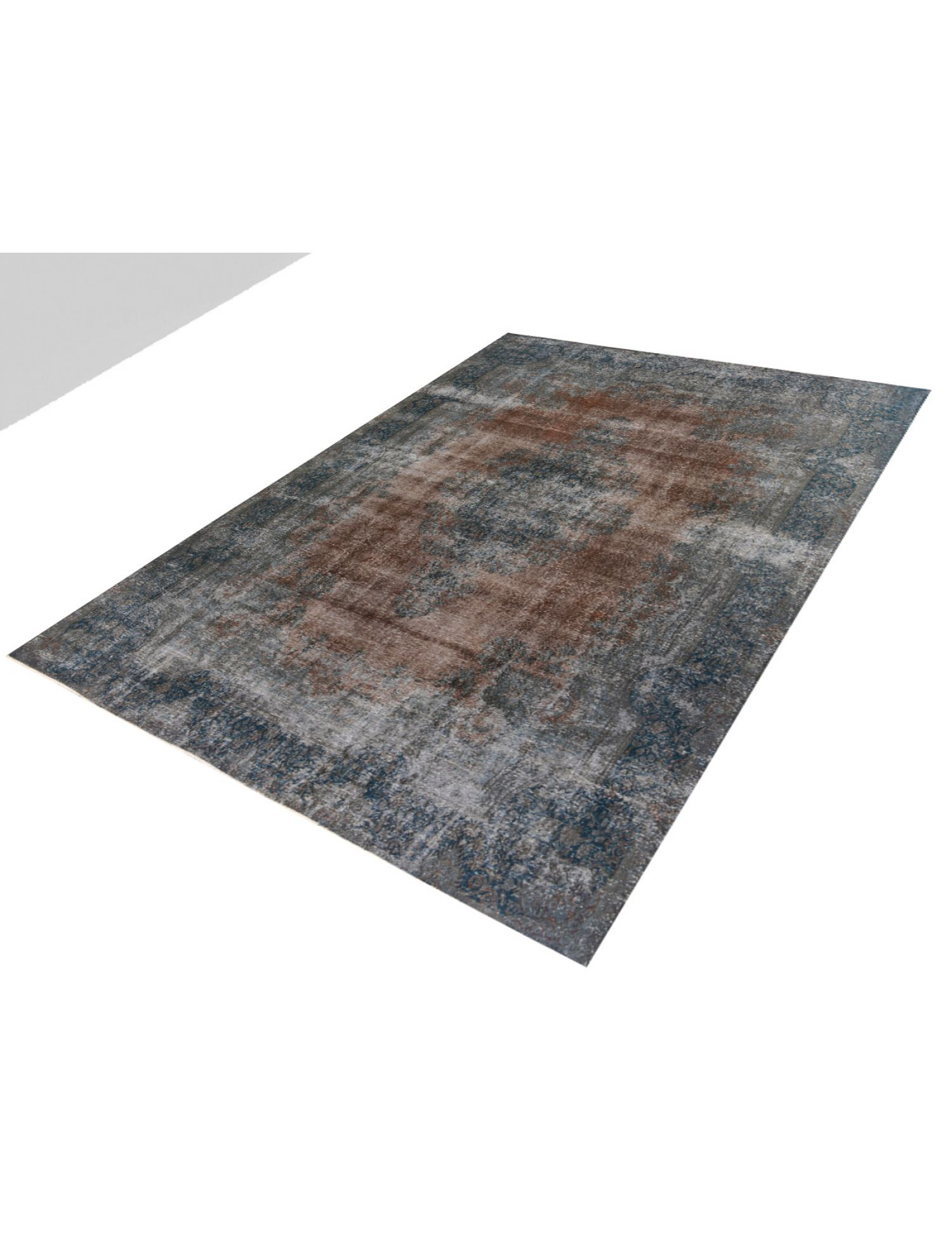 Vintage Teppich  braun <br/>368 x 274 cm