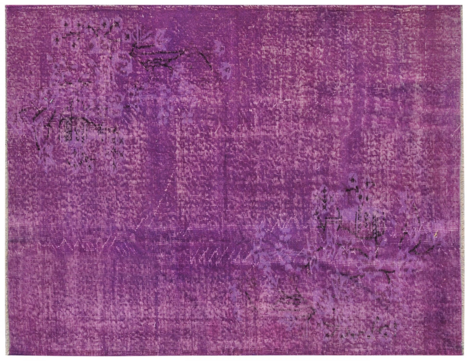 Vintage Teppich  lila <br/>198 x 118 cm