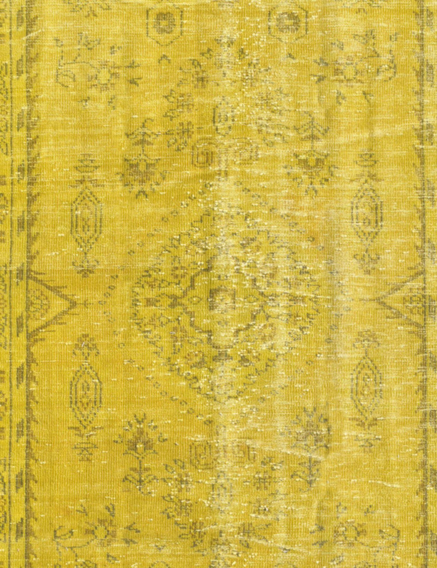 Tappeto Vintage  giallo <br/>268 x 152 cm