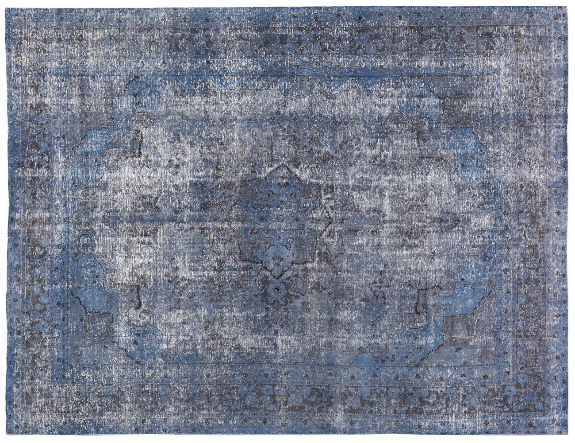 Vintage Tapis  bleu <br/>368 x 282 cm