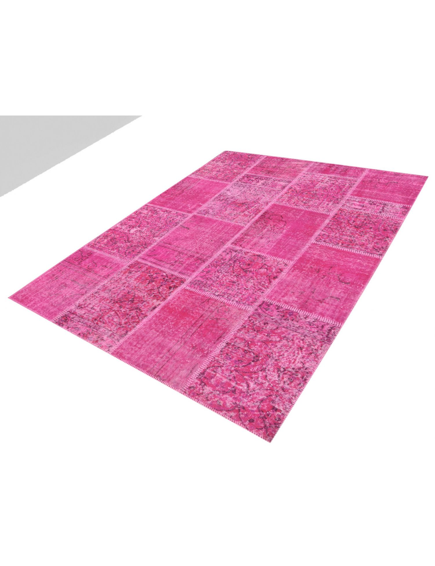 Patchwork Carpet  purple <br/>240 x 170 cm
