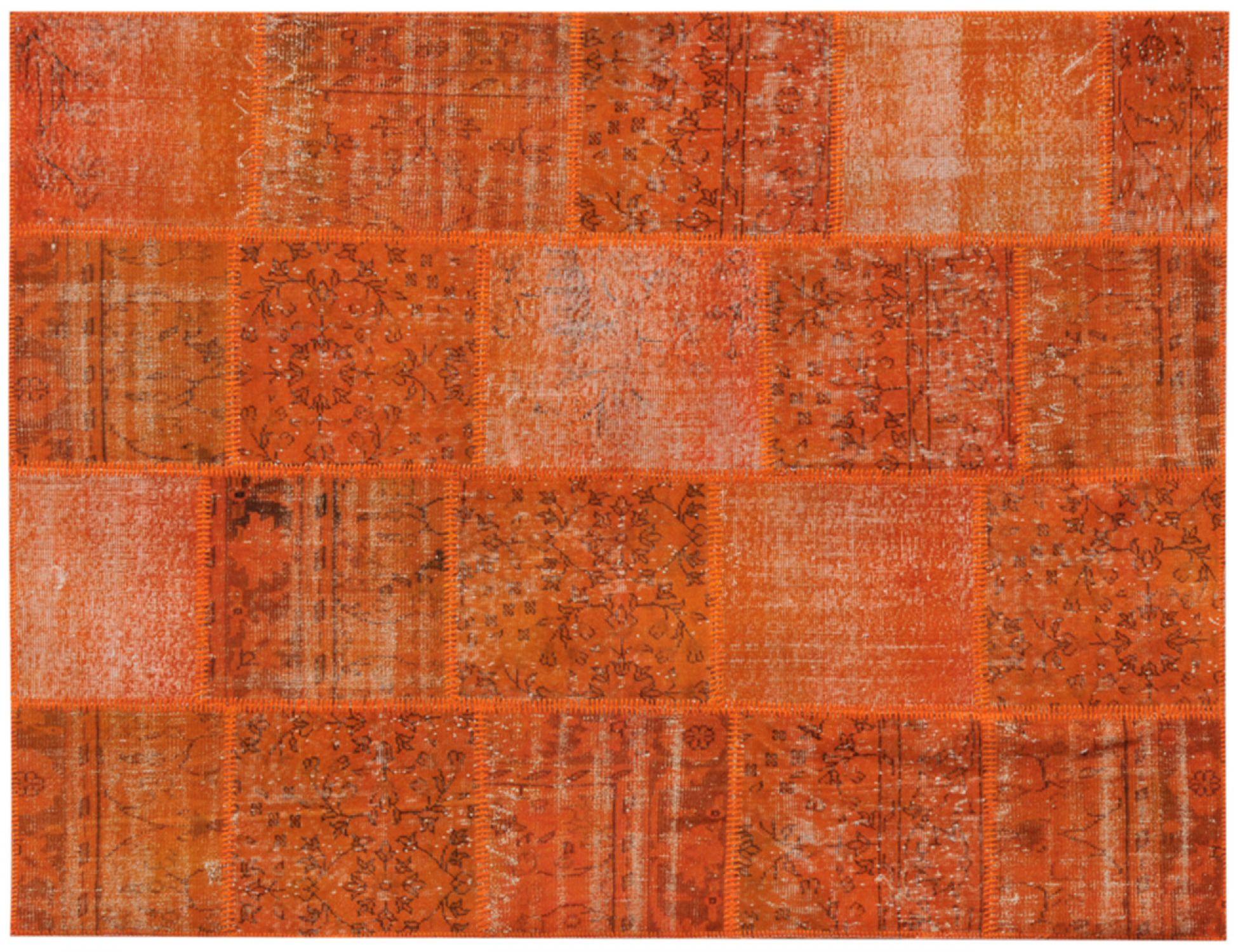 Patchwork Carpet  yellow <br/>240 x 170 cm