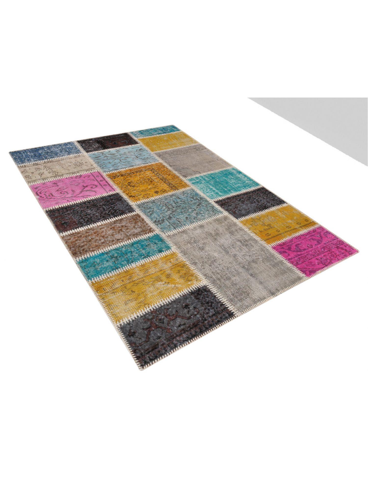 Patchwork Carpet  multicolor <br/>180 x 120 cm