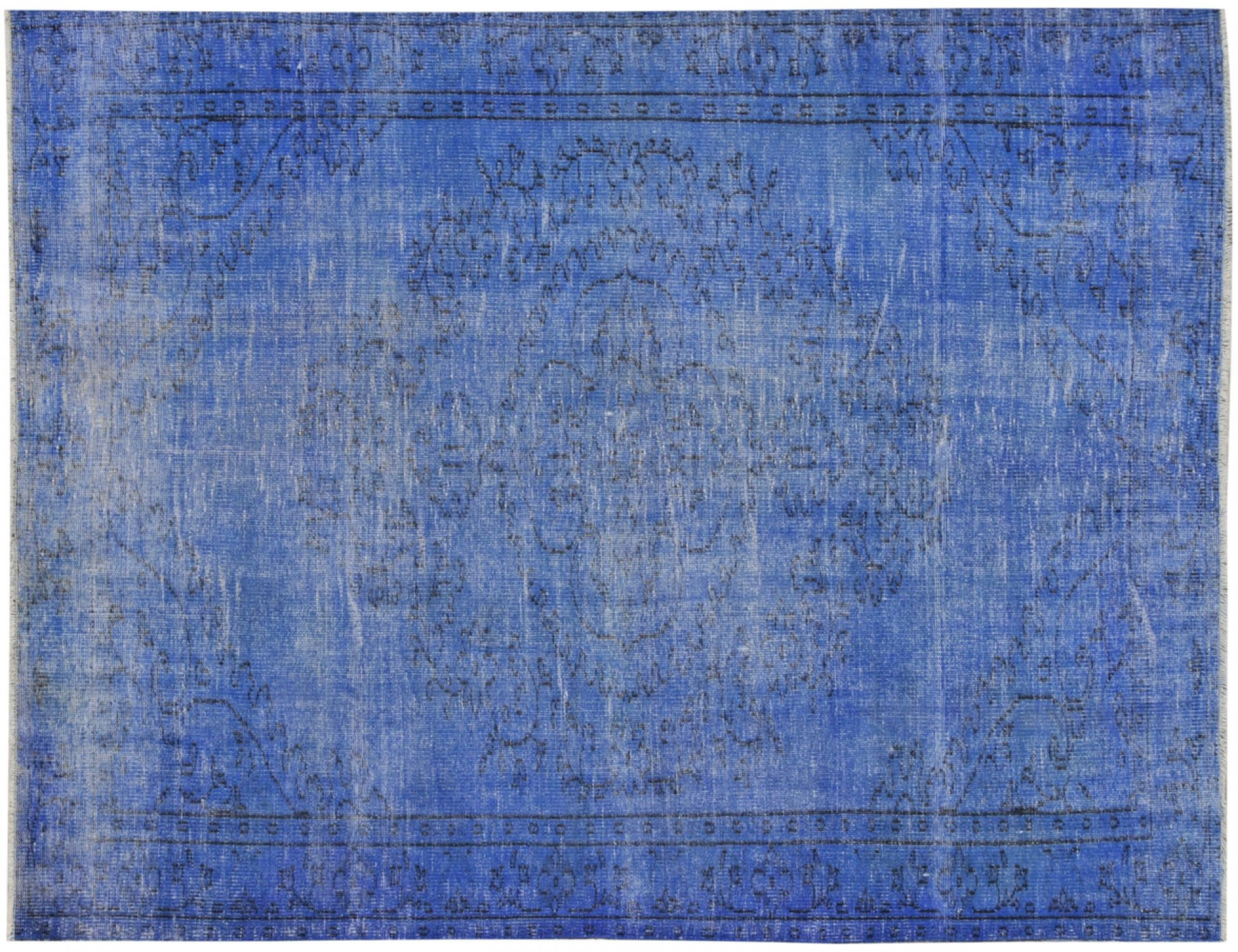 Vintage Tapis  bleu <br/>260 x 180 cm